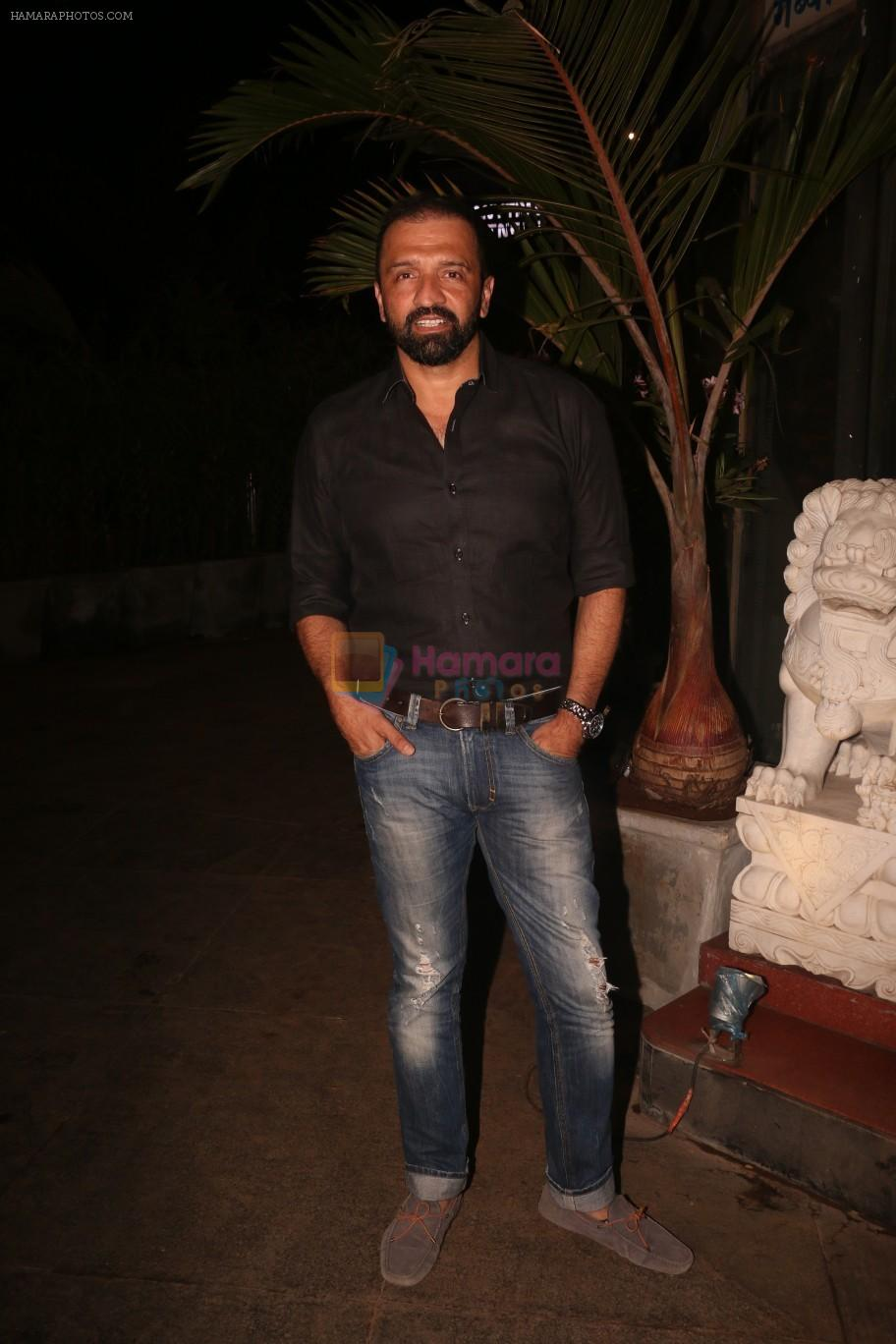Atul Kasbekar at Nora Fatehi's birthday party in bandra on 5th Feb 2019