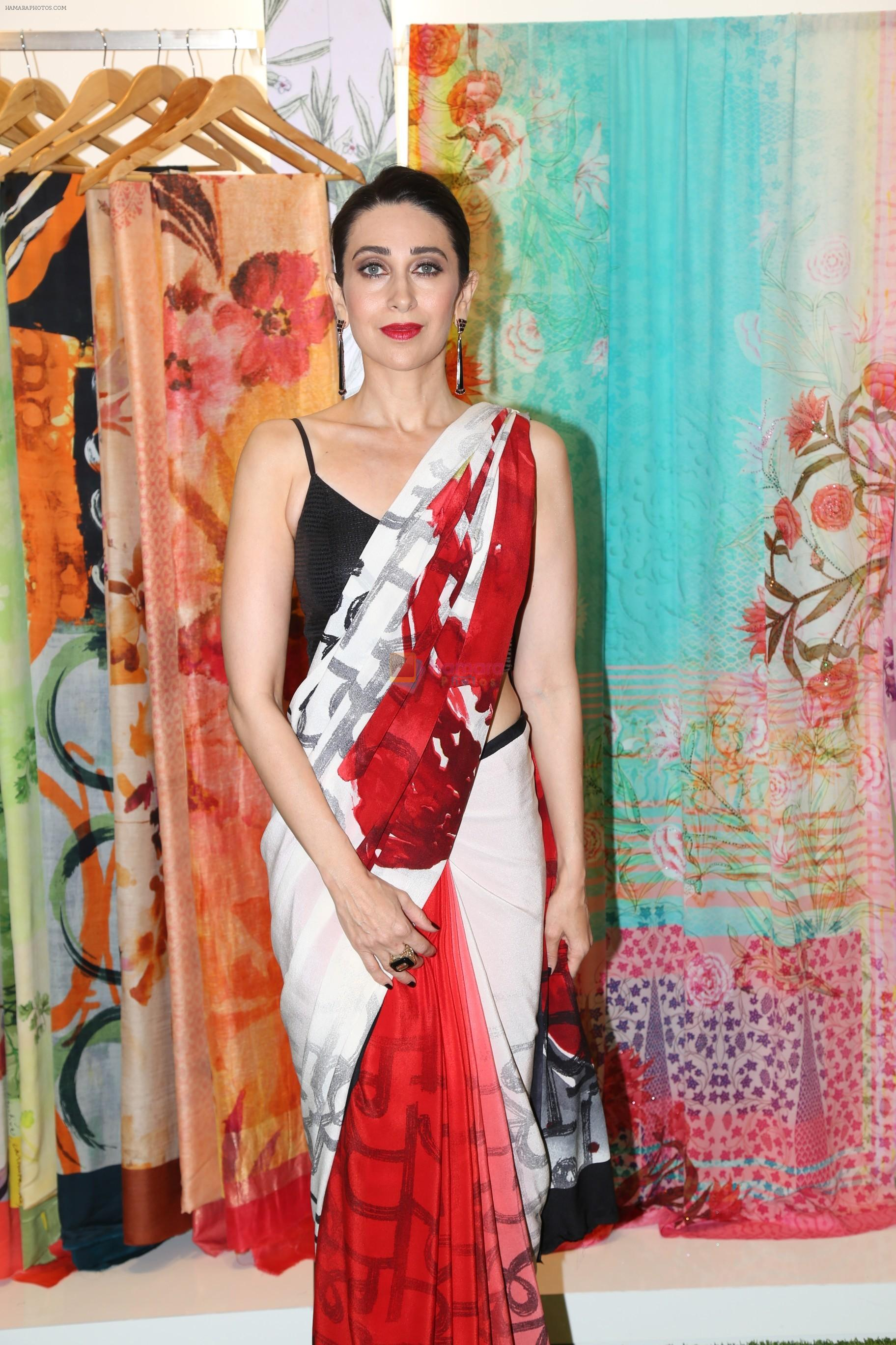 Karisma Kapoor at the special preview of spring summer 19 collection of Satya Paul at thier store in Phoenix on 6th Feb 2019