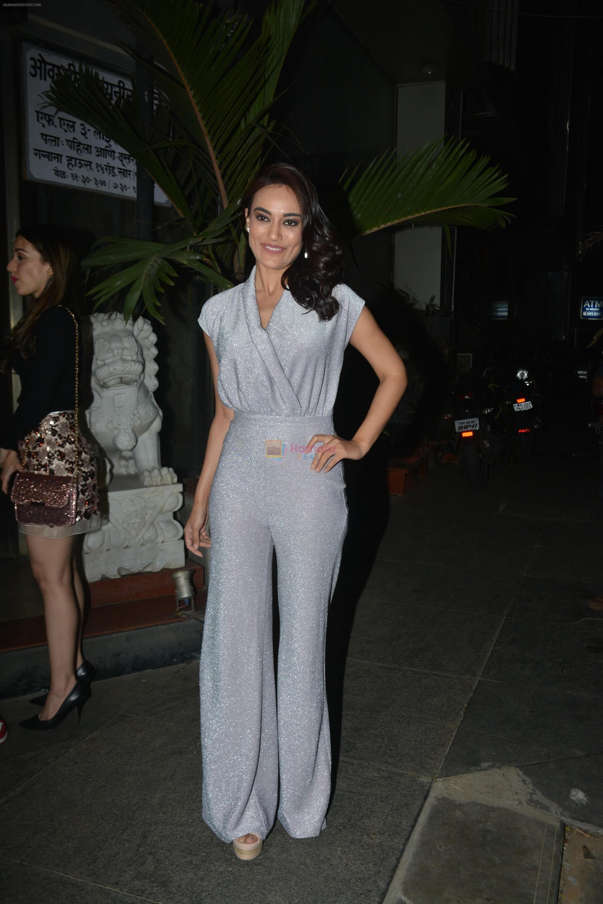 at Rohit Reddy & Anita Hassanandani's party for the launch of thier new single Teri Yaad at bandra on 8th Feb 2019