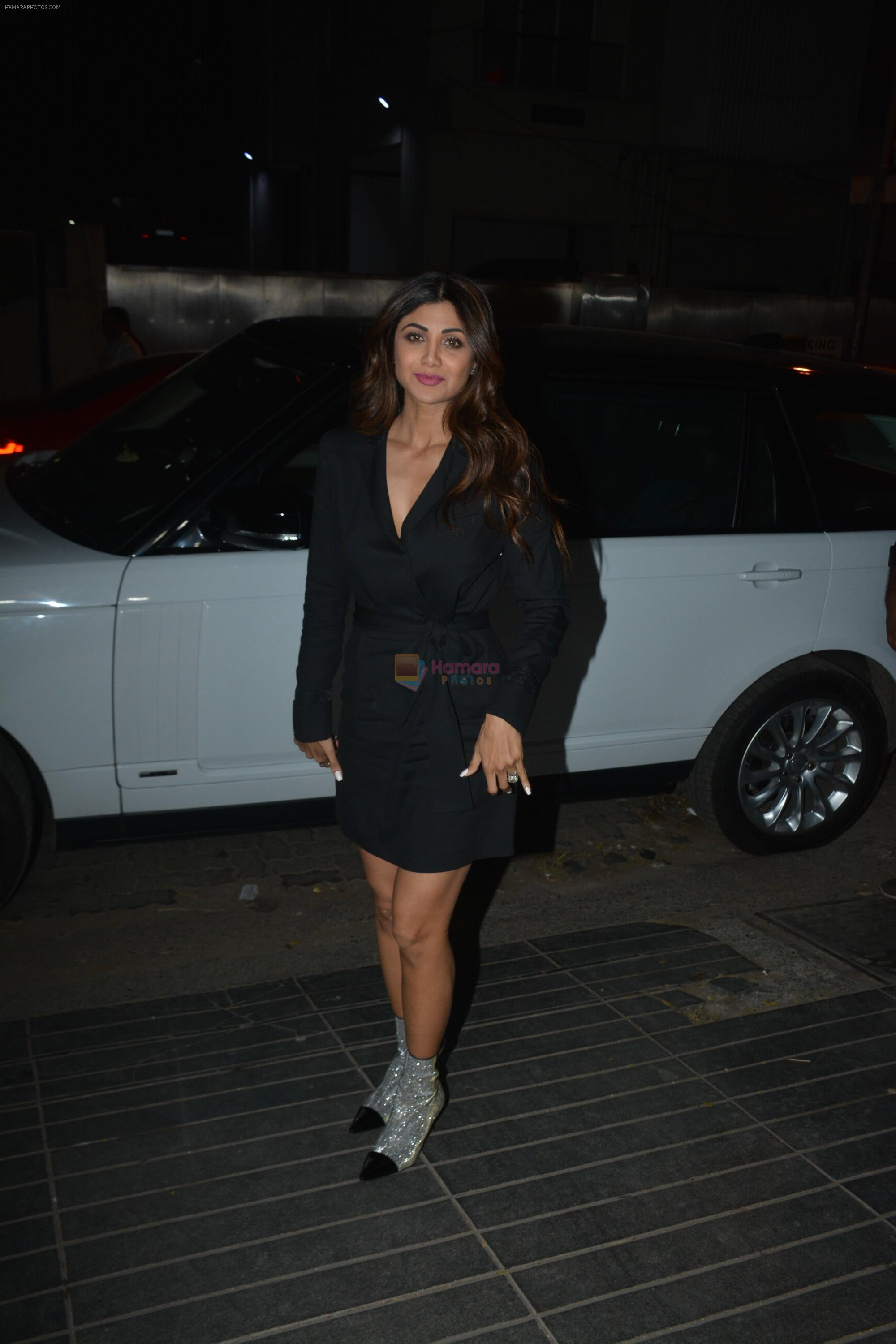 Shilpa Shetty at Rohit Reddy & Anita Hassanandani's party for the launch of thier new single Teri Yaad at bandra on 8th Feb 2019
