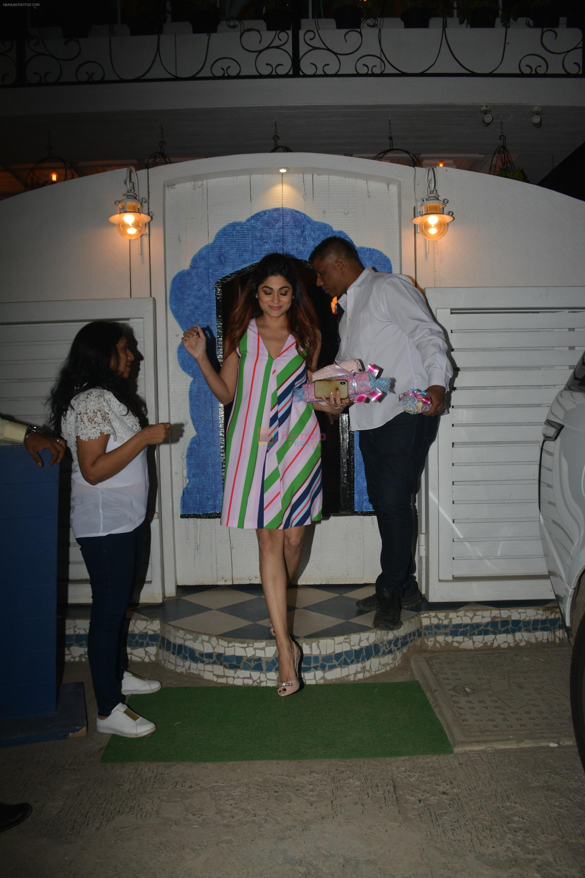 Shamita Shetty at the baby shower of her manager in bandra on 8th Feb 2019