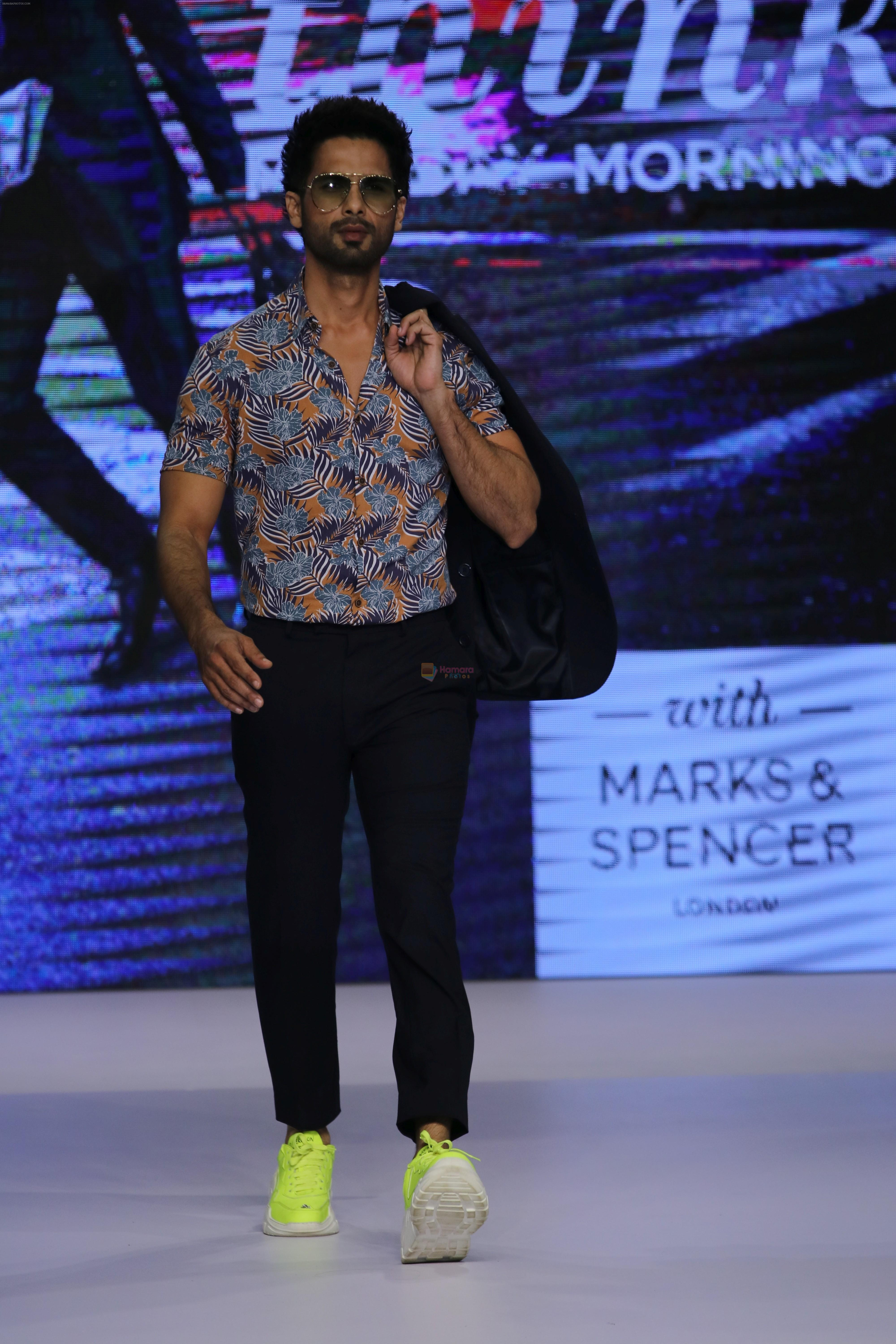 Shahid Kapoor at Preview of Marks & Spencer Spring Summer Collection 2019 at ITC Grand Central on 7th Feb 2019