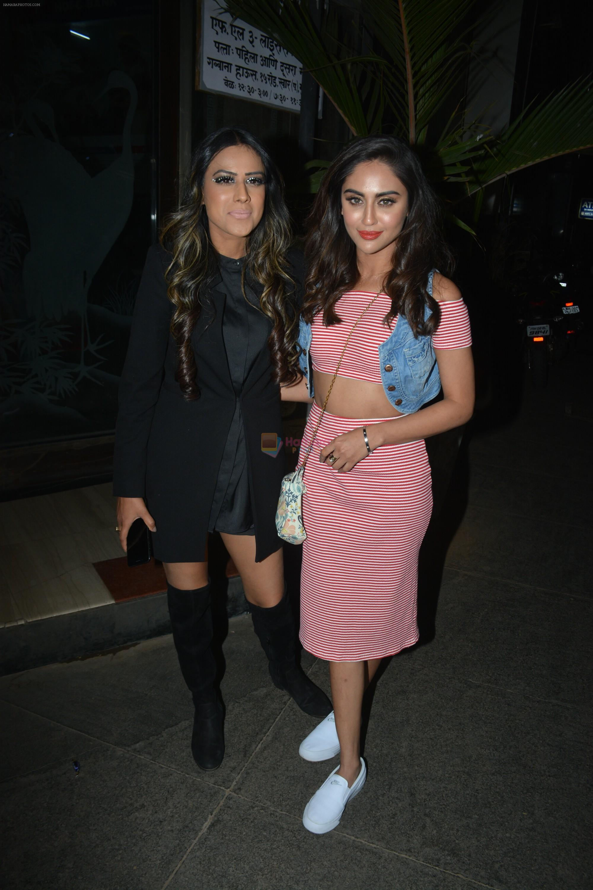 Krystle D'souza at Rohit Reddy & Anita Hassanandani's party for the launch of thier new single Teri Yaad at bandra on 8th Feb 2019