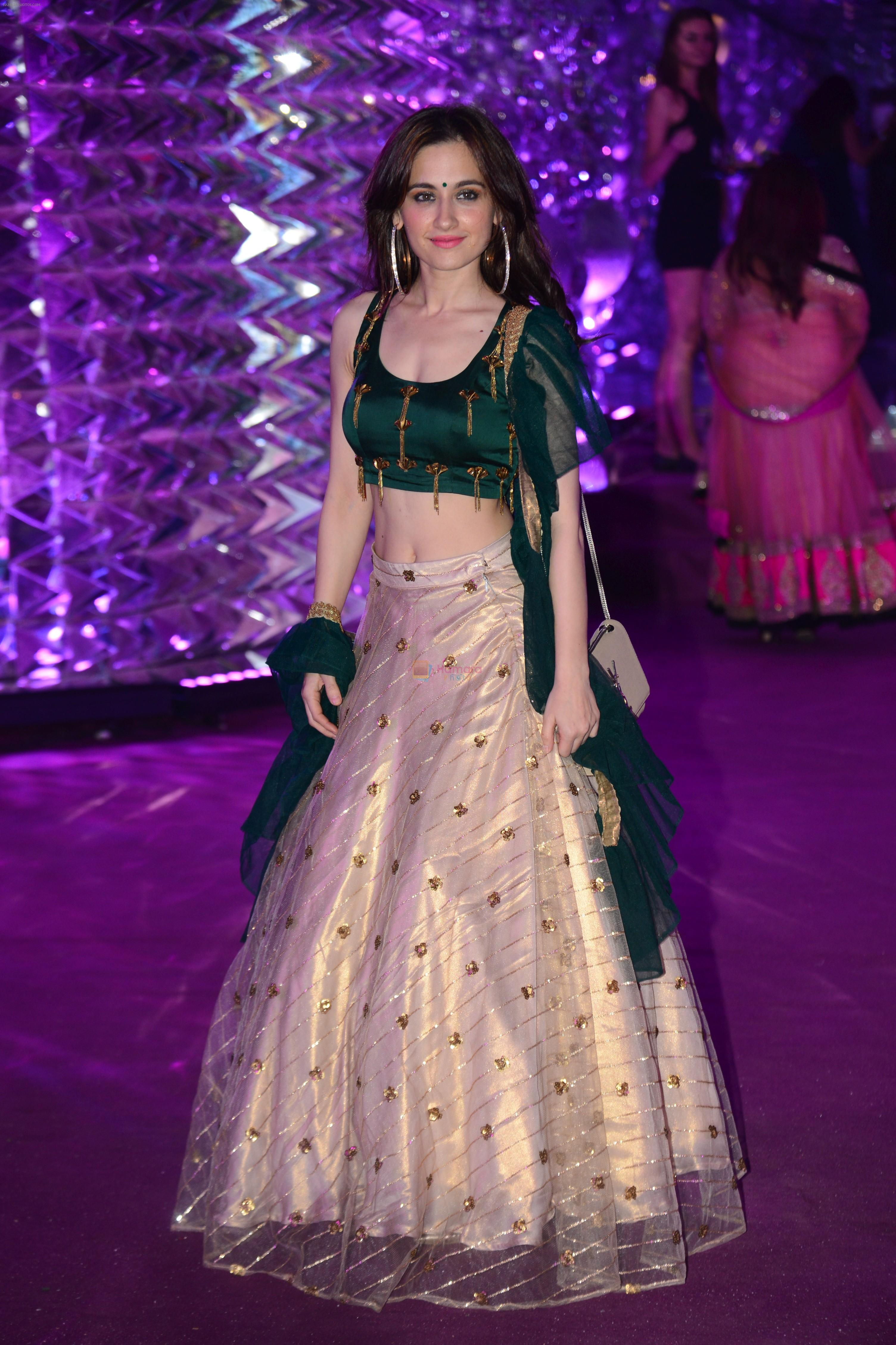 Sanjeeda Sheikh at Azhar Morani & Tanya Seth Sangeet in NSCI worli on 7th Feb 2019