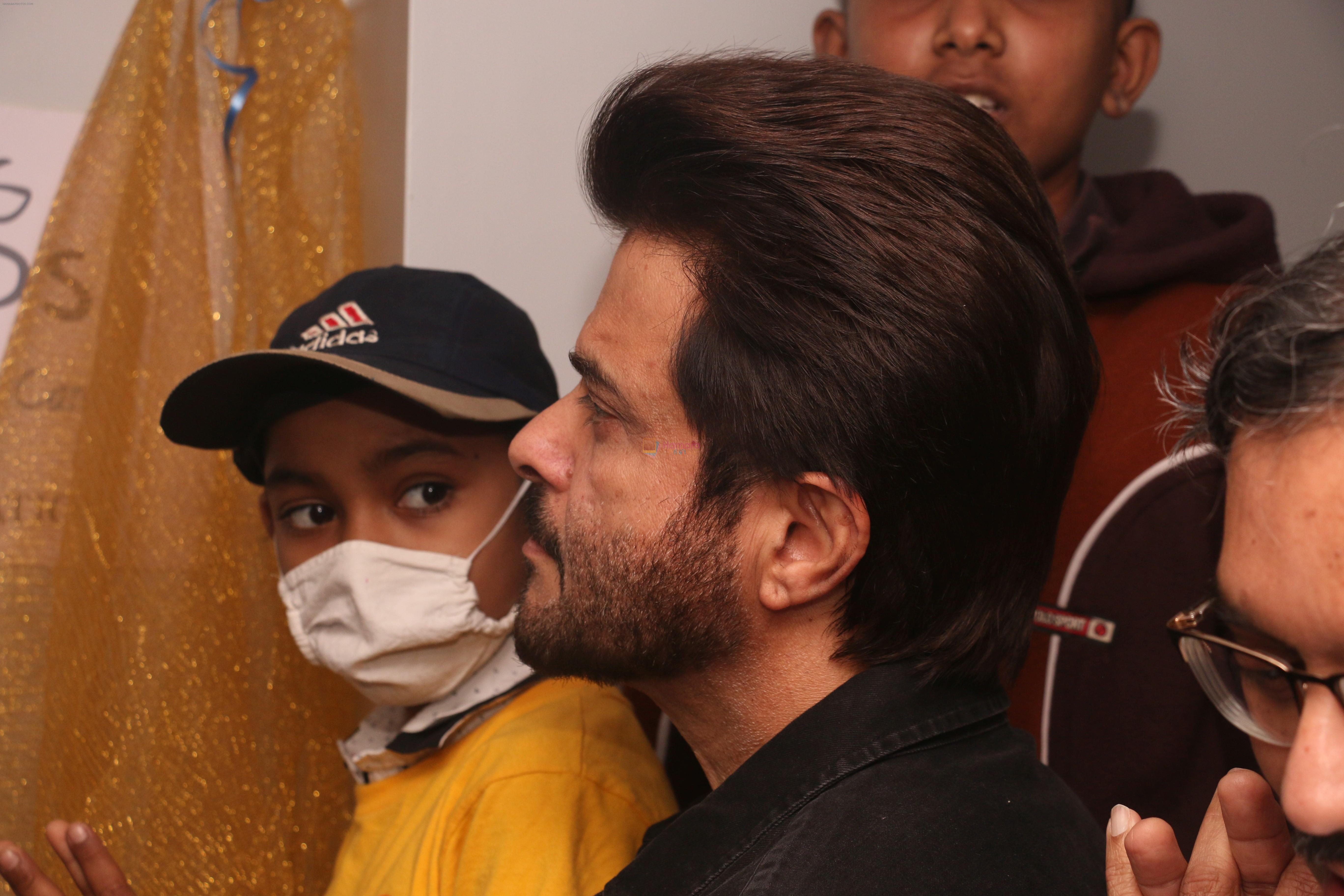 Anil Kapoor Inaugurates the pediatric opd by helping hands at the Tata Memorial hospital in parel on 9th Feb 2019