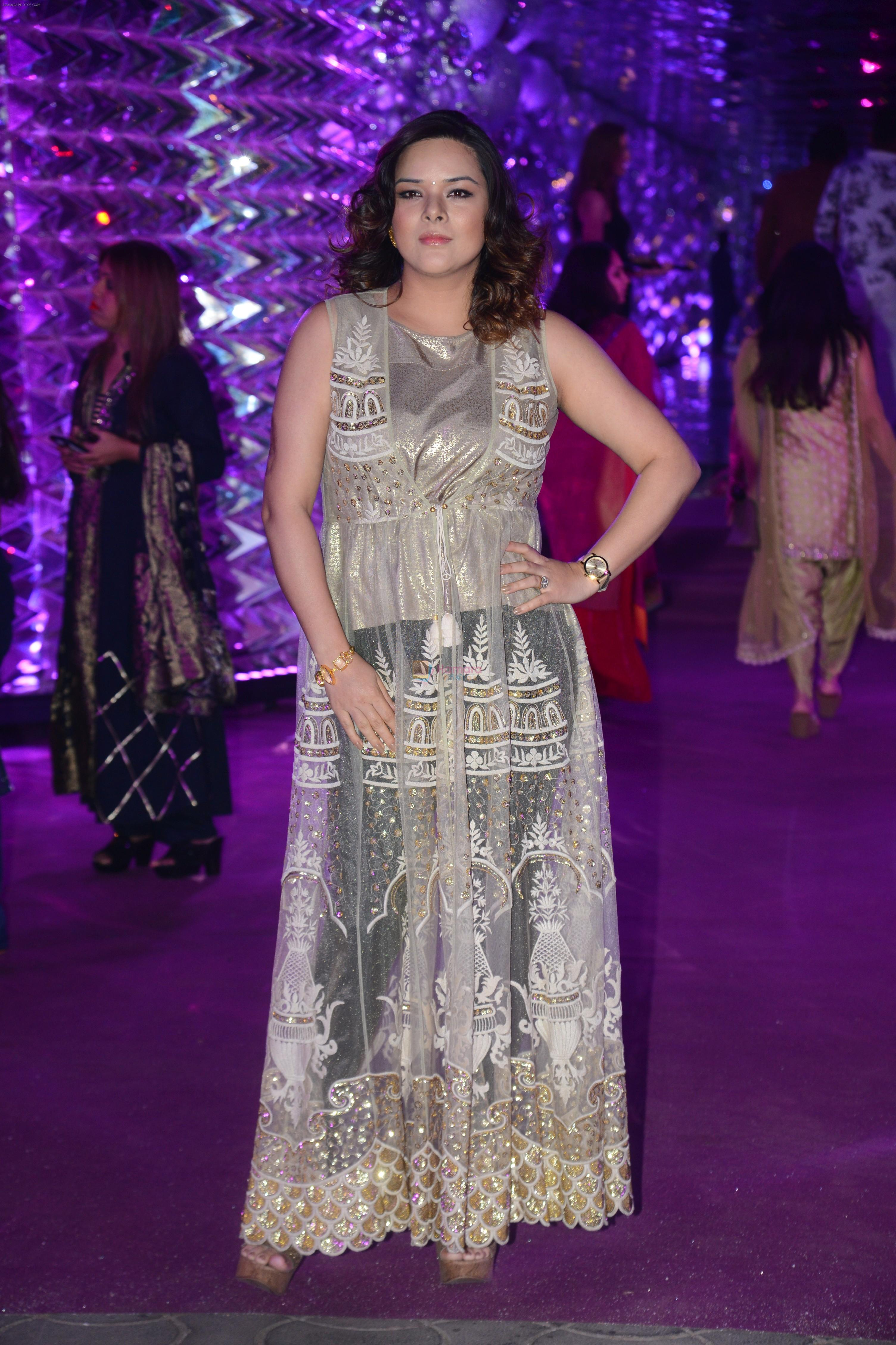 Udita Goswami at Azhar Morani & Tanya Seth Sangeet in NSCI worli on 7th Feb 2019