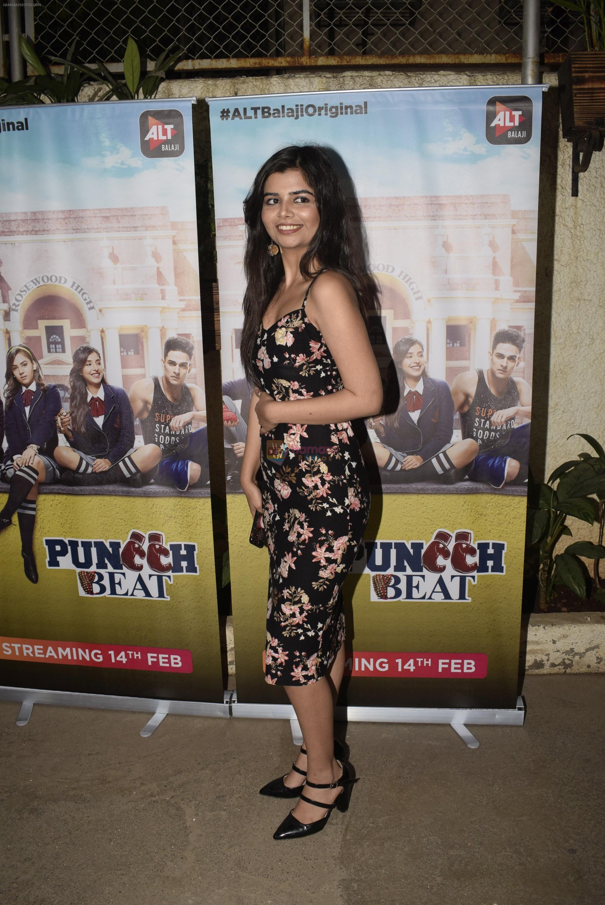 at the Screening of Alt Balaji's new web series Punch Beat in Sunny sound juhu on 11th Feb 2019