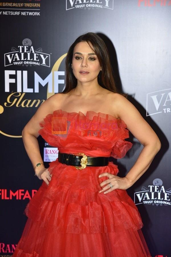 Preity Zinta at Flimfare Glamour And Style Awards on 13th Feb 2019