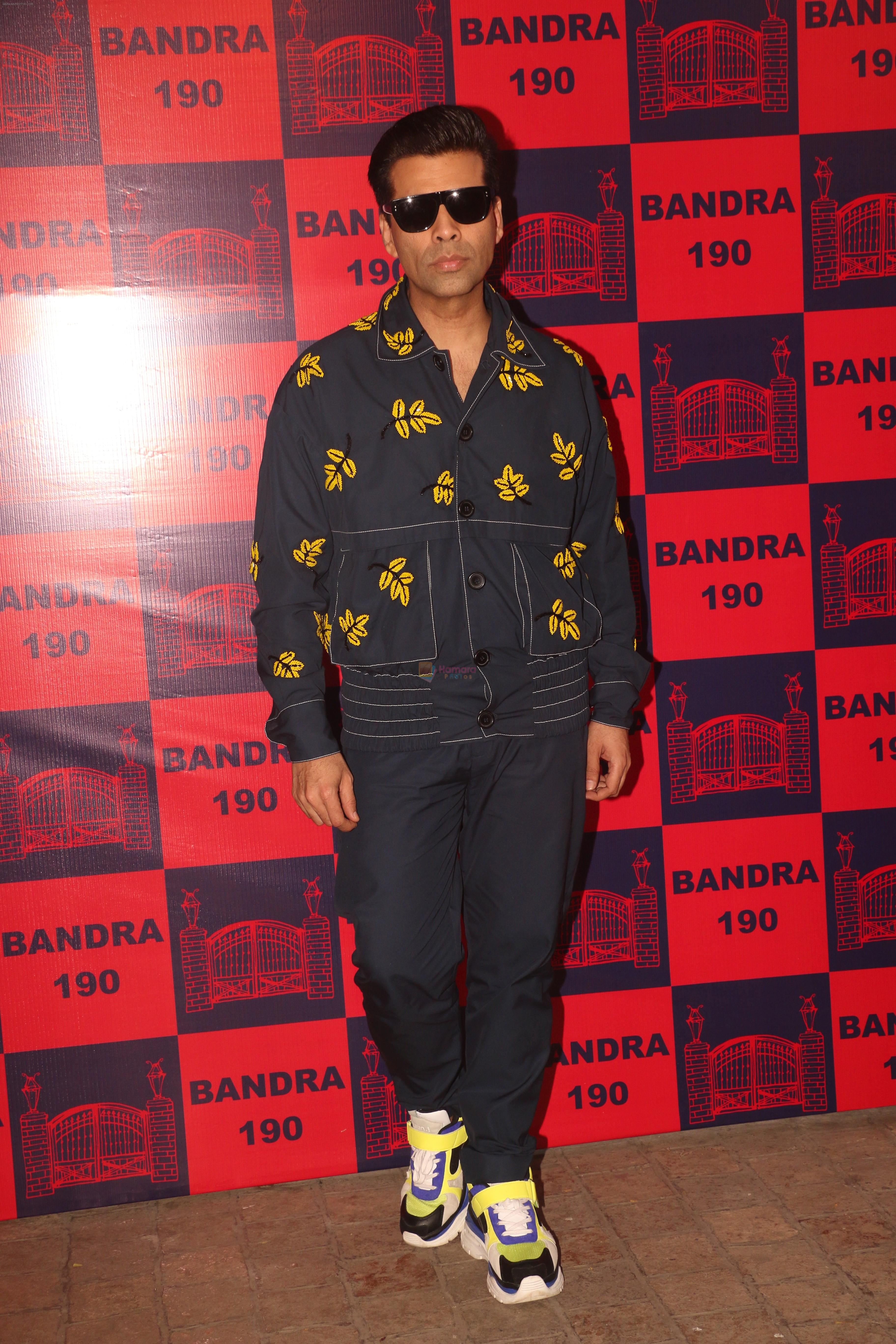 Karan Johar attend a fashion event at Bandra190 on 21st Feb 2019
