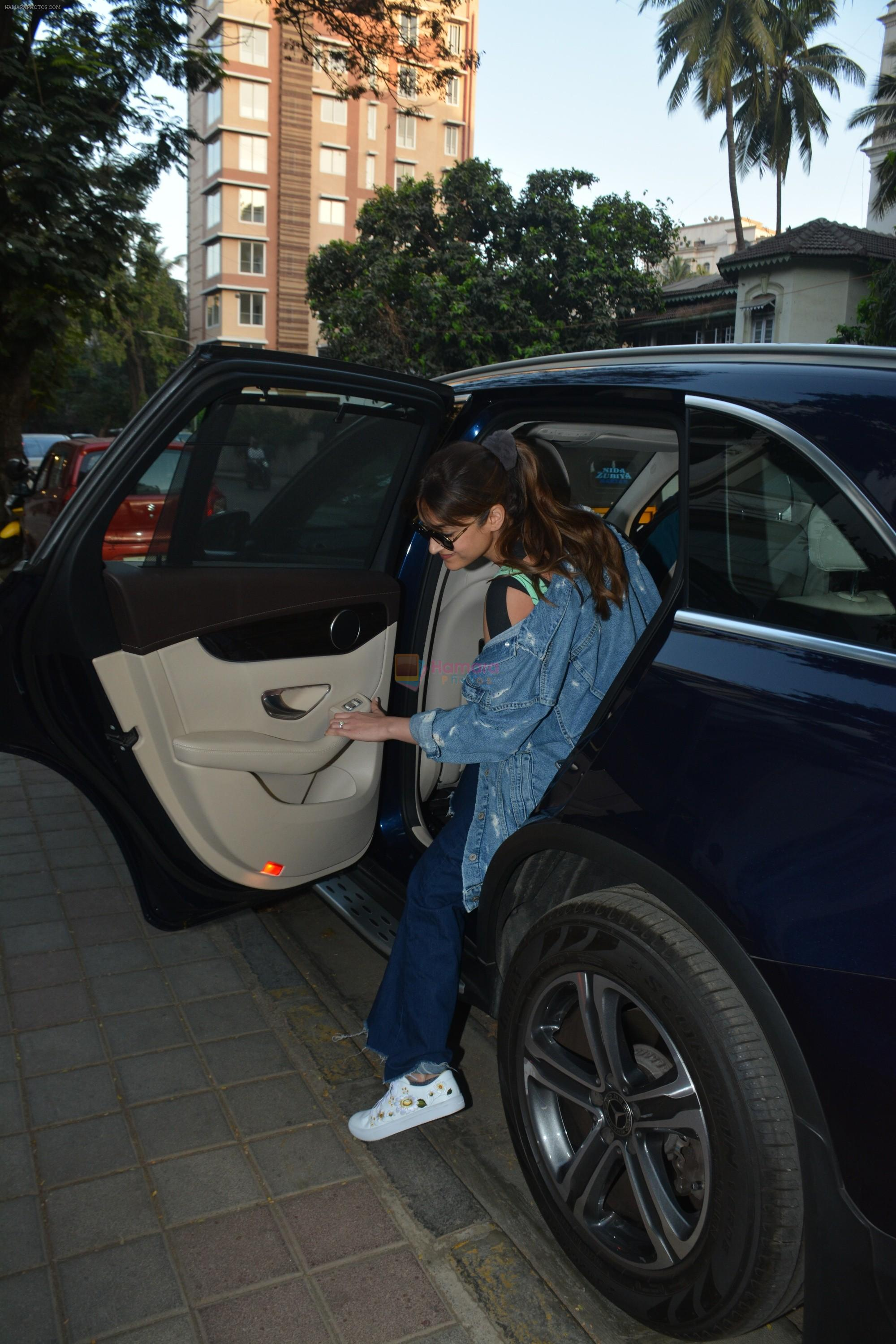 Ileana D'Cruz spotted at clinic in bandra on 25th Feb 2019