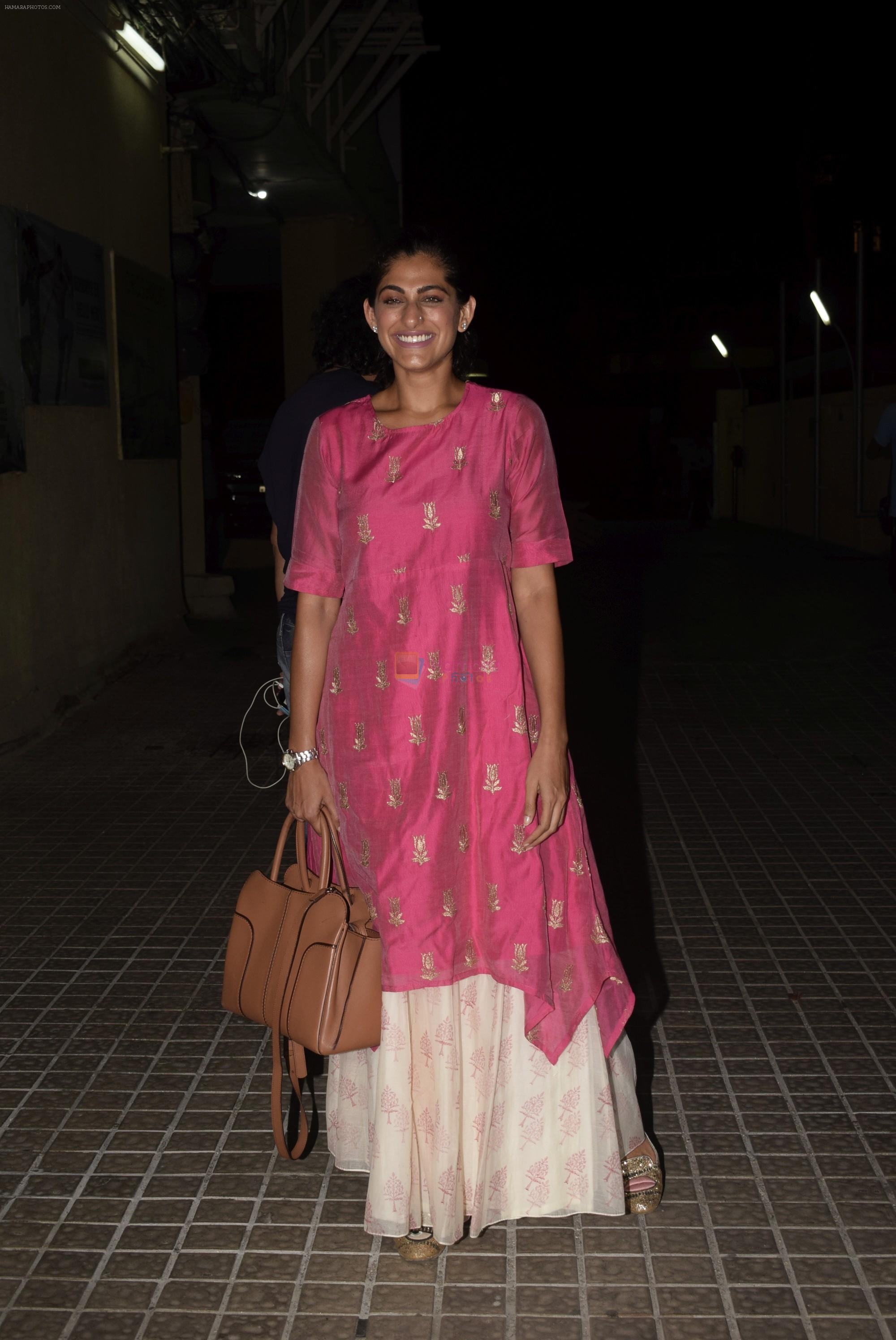 Kubbra Sait at the Screening of film Sonchiriya at pvr juhu on 27th Feb 2019