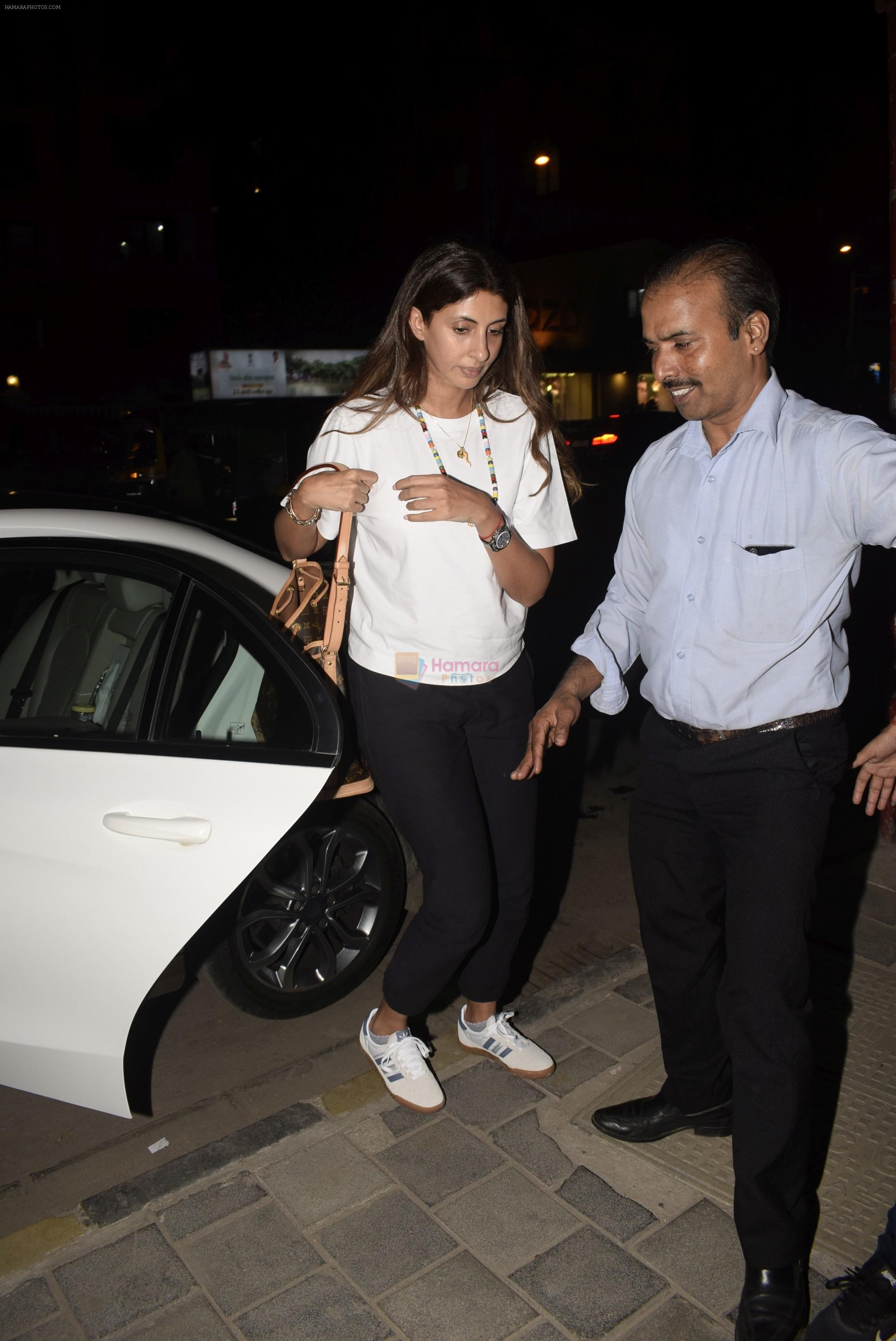 Shweta Bachchan spotted at Soho House juhu on 27th Feb 2019