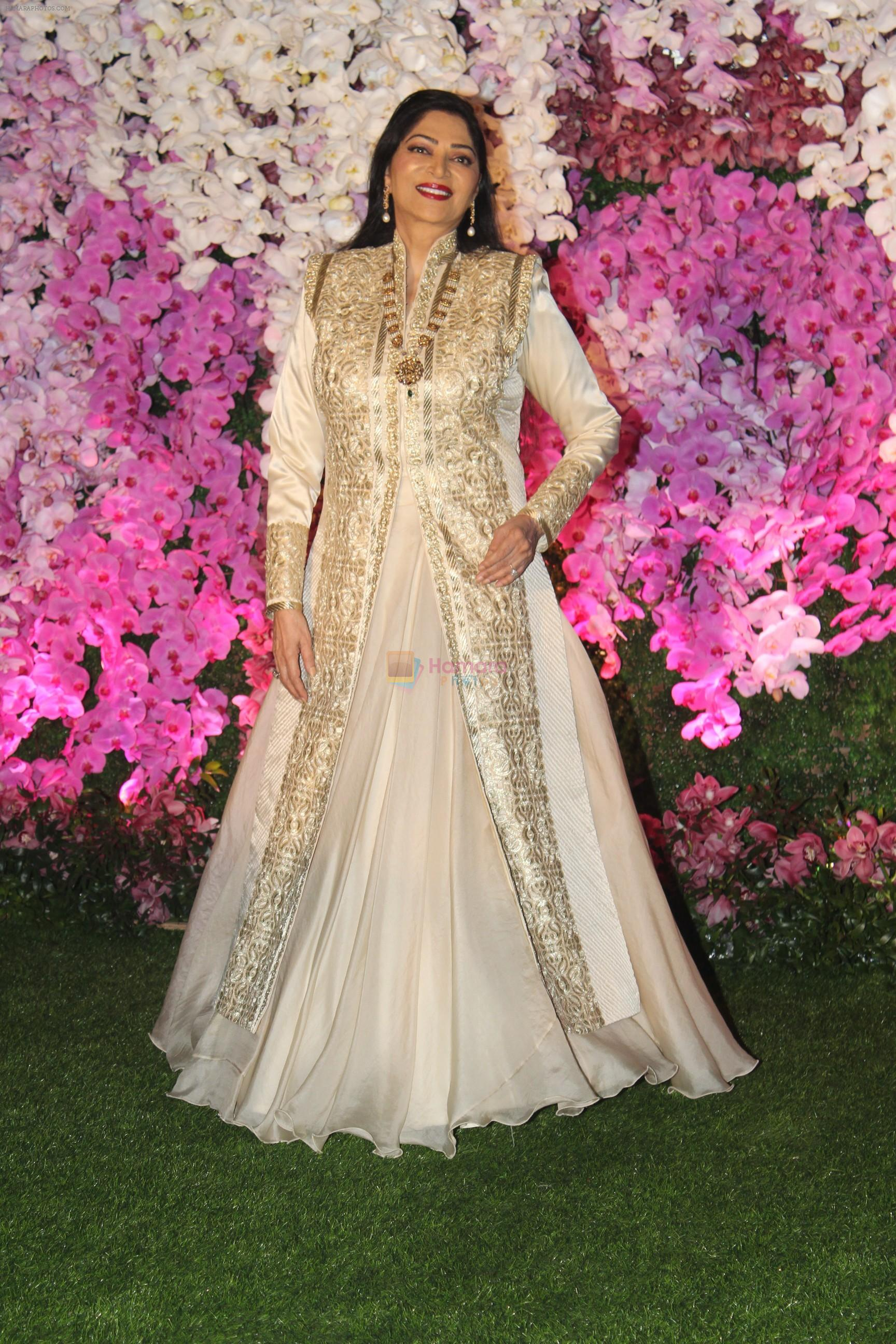 Simi Garewal at Akash Ambani & Shloka Mehta wedding in Jio World Centre bkc on 10th March 2019
