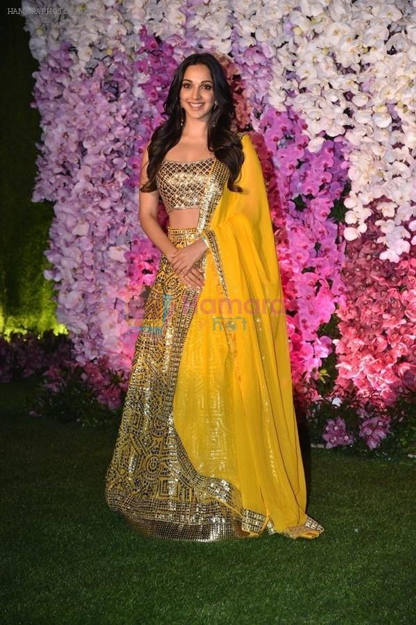 Kiara Advani at Akash Ambani & Shloka Mehta wedding in Jio World Centre bkc on 10th March 2019