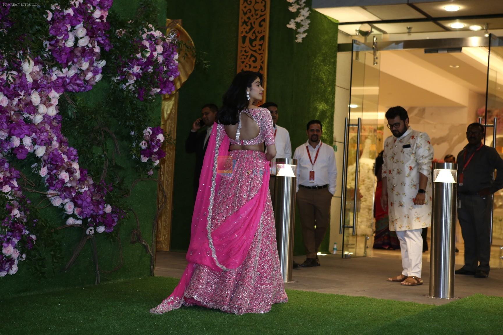 Janhvi Kapoor at Akash Ambani & Shloka Mehta wedding in Jio