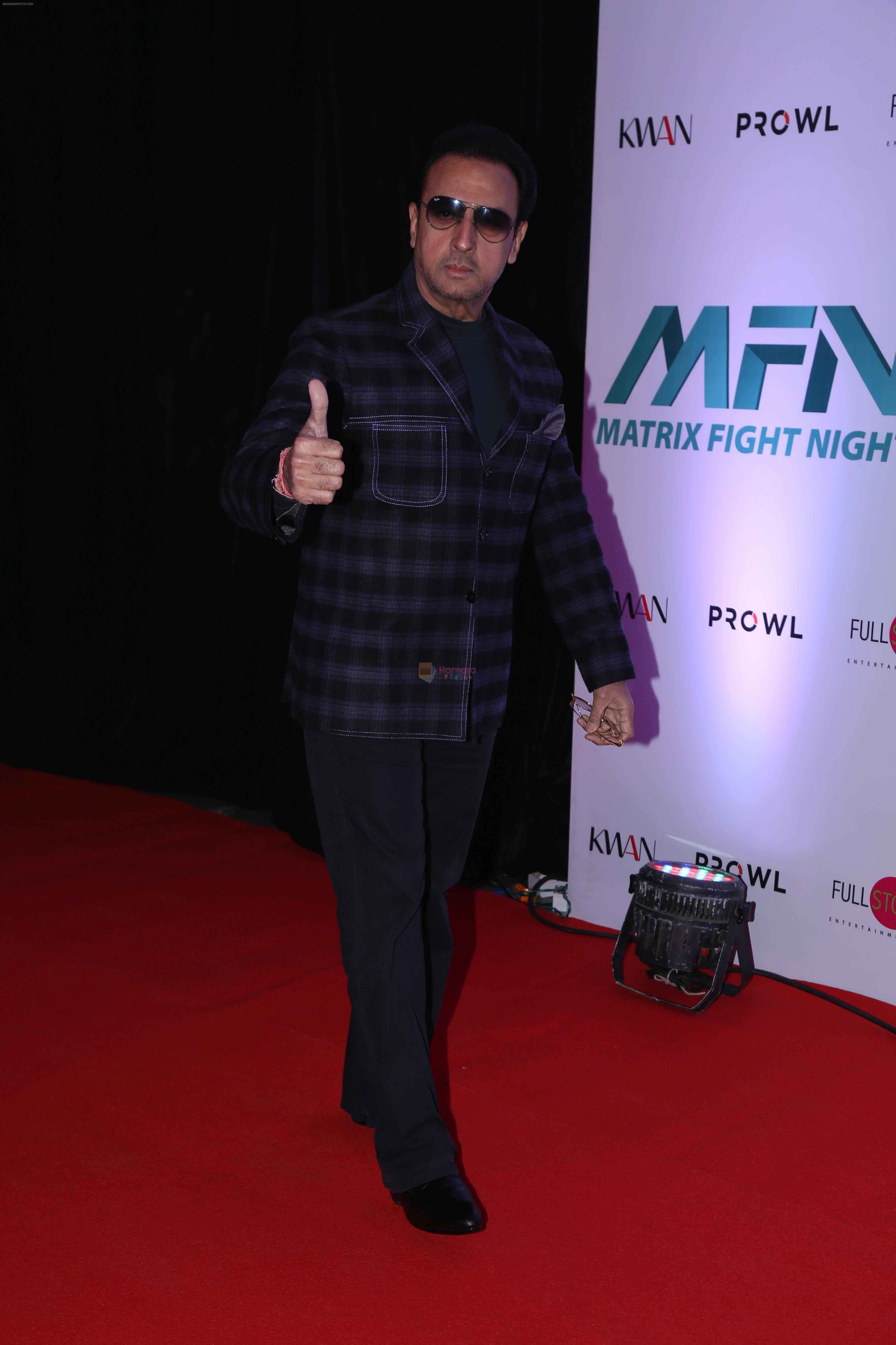 at the Launch of Matrix Fight Night by Tiger & Krishna Shroff at NSCI worli on 12th March 2019