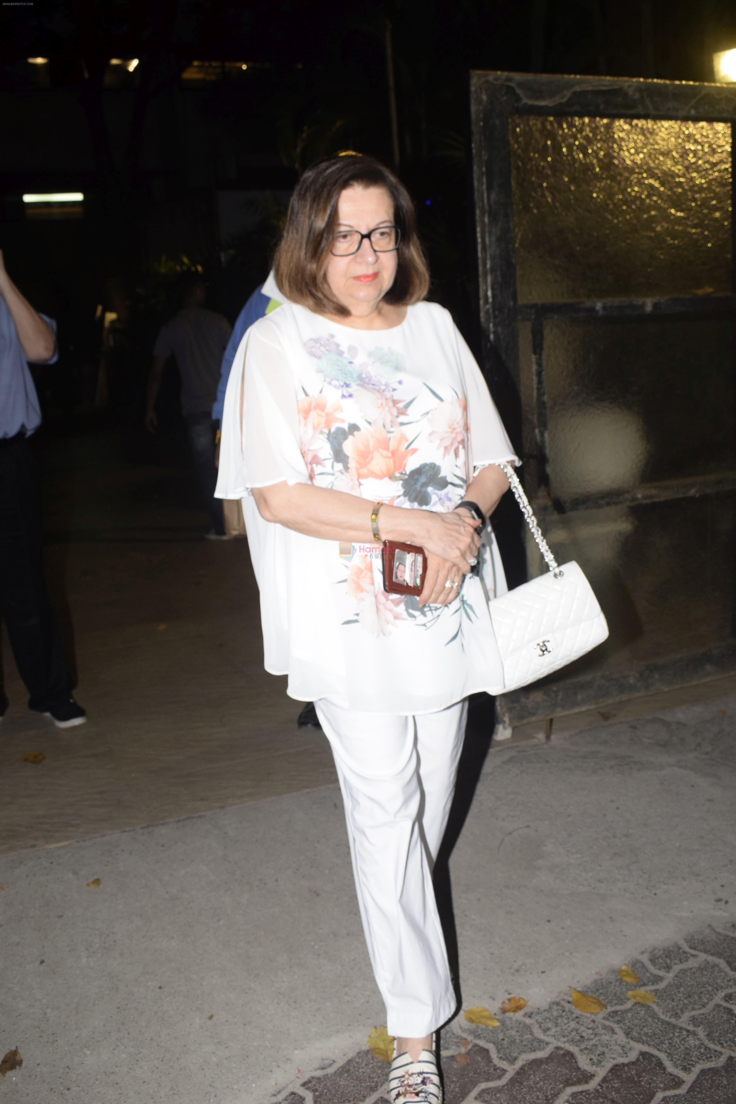 Babita at Karishma Kapoor's son Kiaan's birthday party in club bandra on 12th March 2019