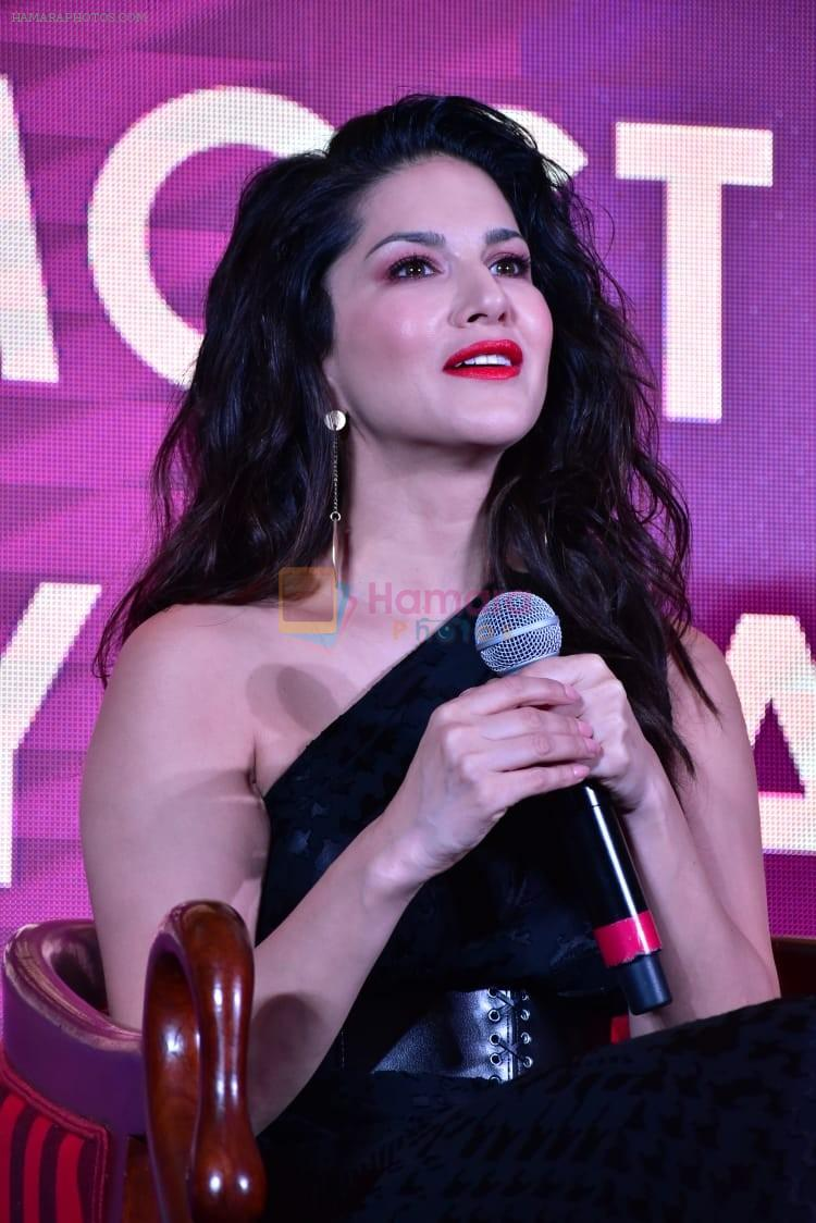 Sunny leone at launch of 11wickets.com on 12th March 2019
