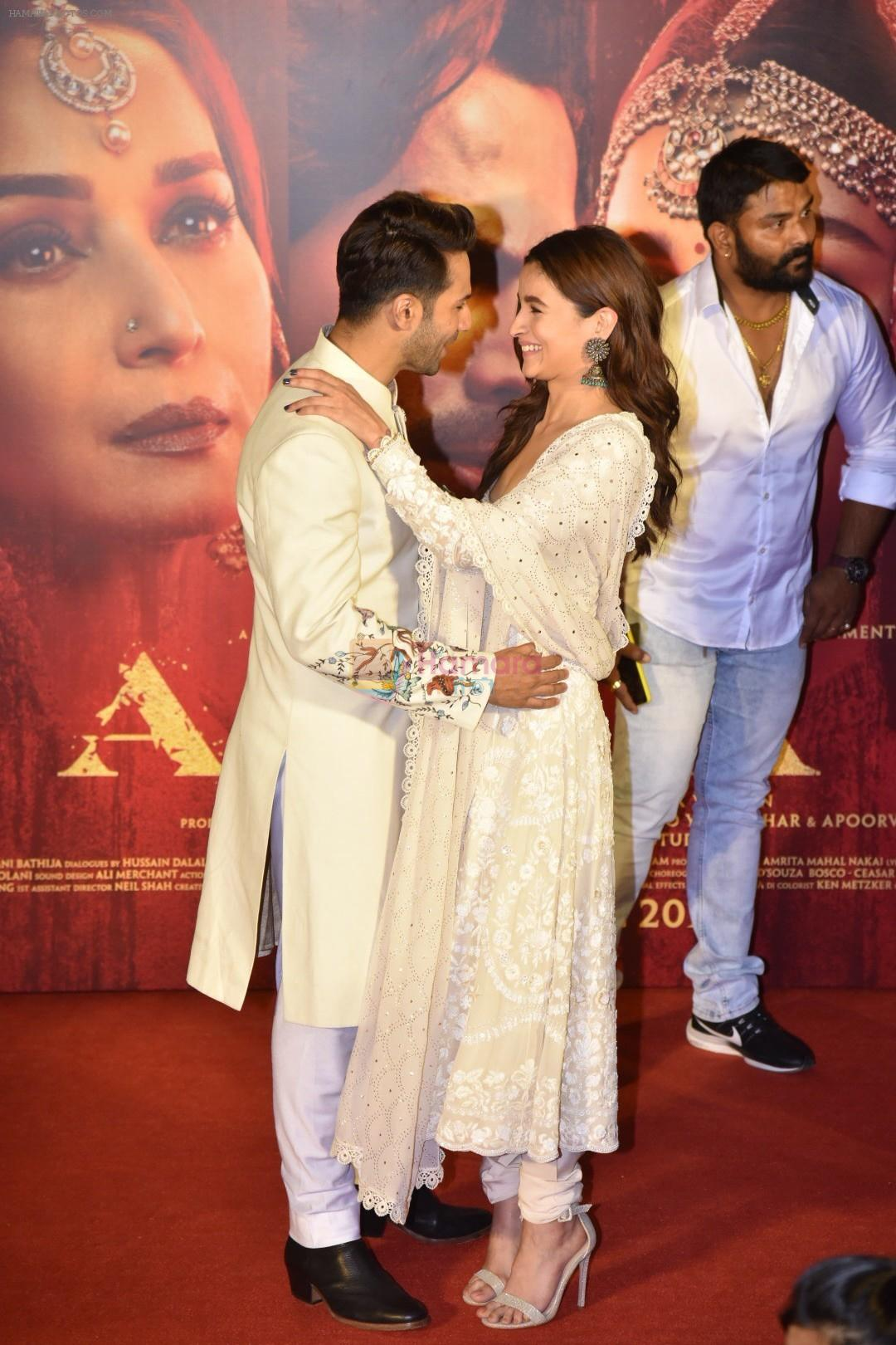 Alia Bhatt, Varun Dhawan at the Teaser launch of KALANK on 11th March 2019