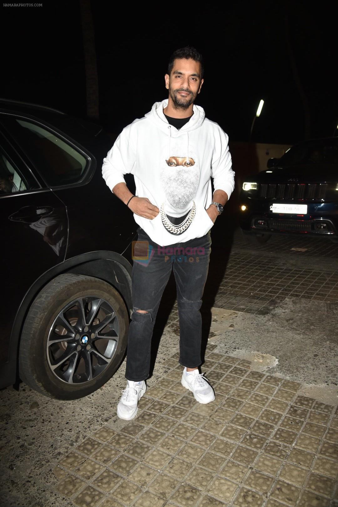 Angad Bedi at the Screening of movie photograph on 13th March 2019