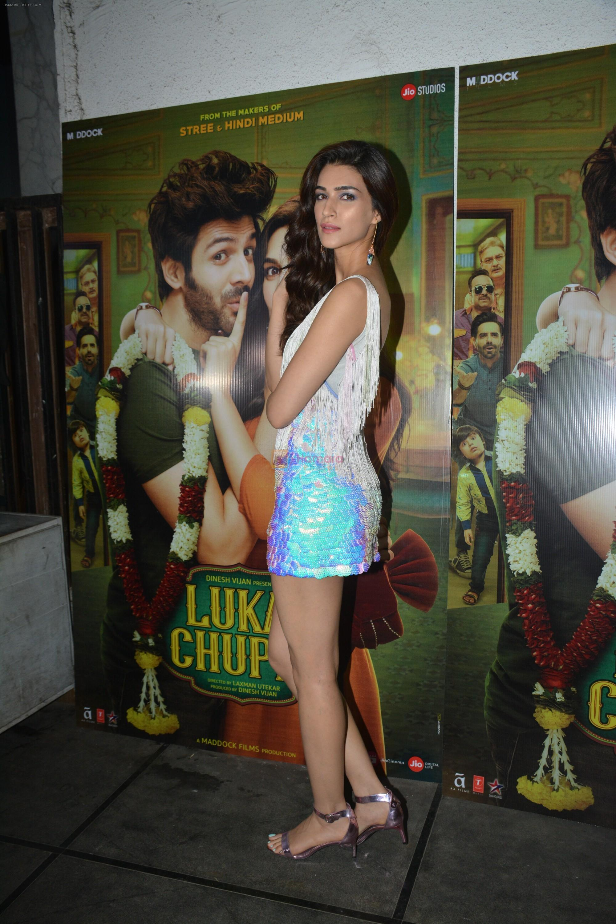Kriti Sanon at Luka Chuppi success party at Arth in khar on 12th March 2019