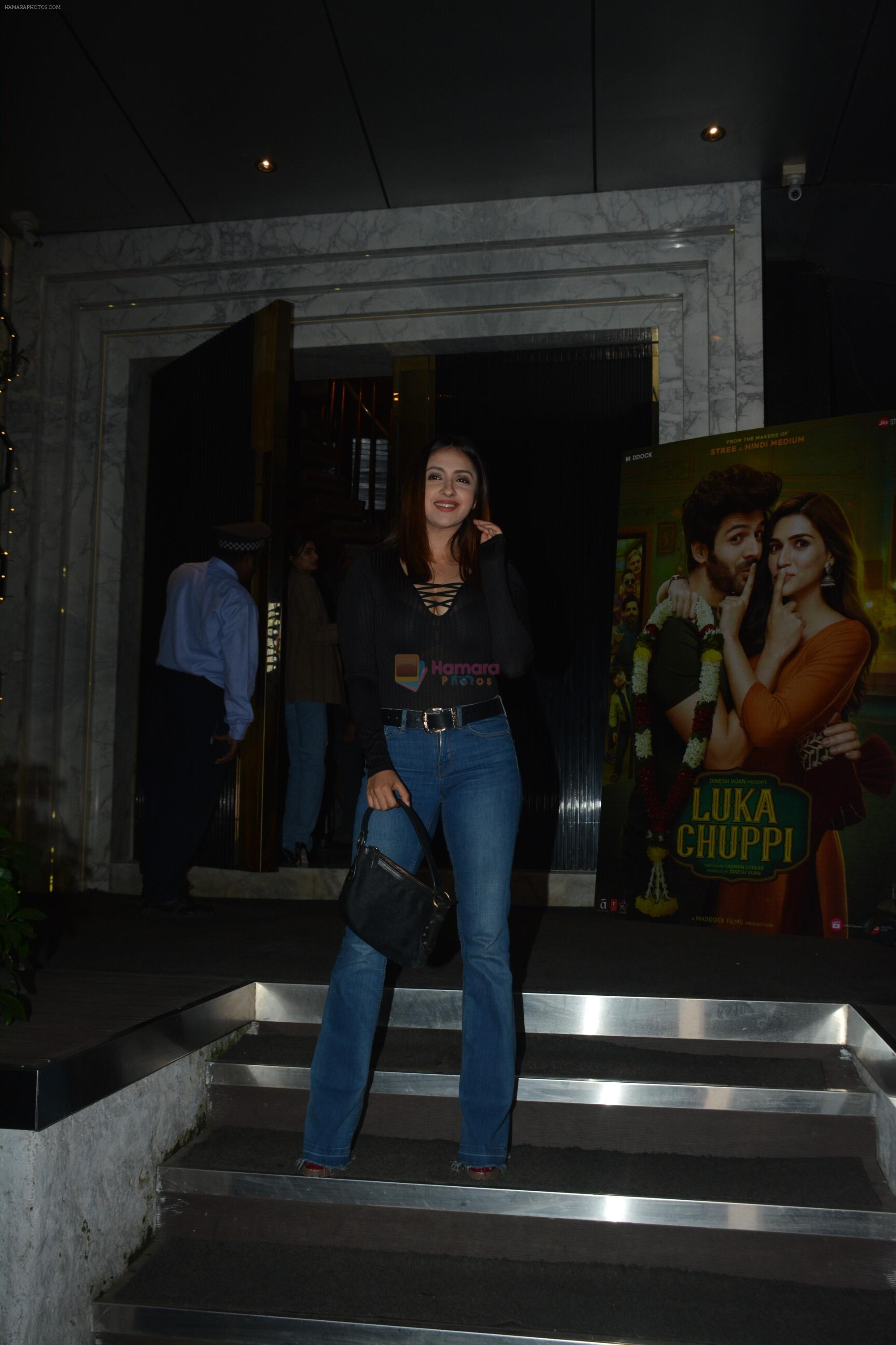 at Luka Chuppi success party at Arth in khar on 12th March 2019