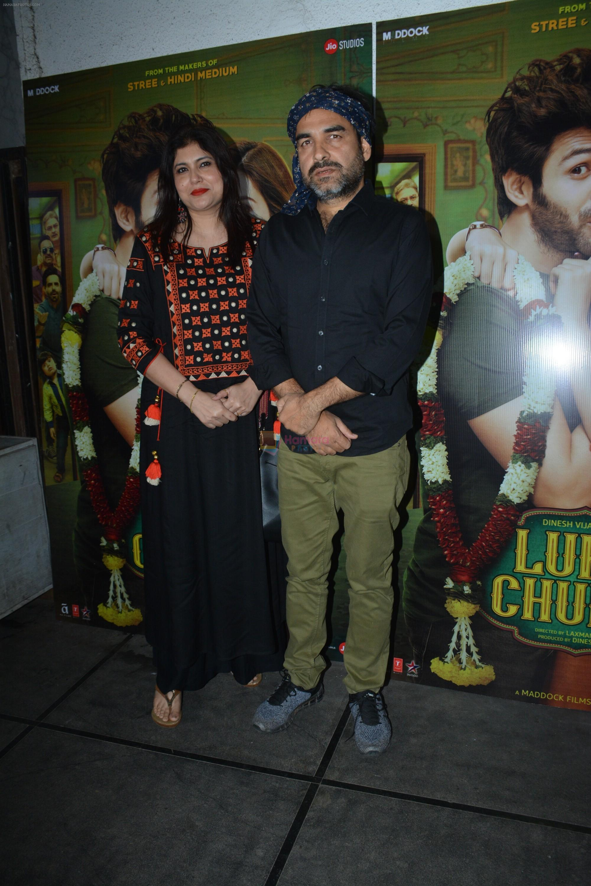 Pankaj Tripathi at Luka Chuppi success party at Arth in khar on 12th March 2019