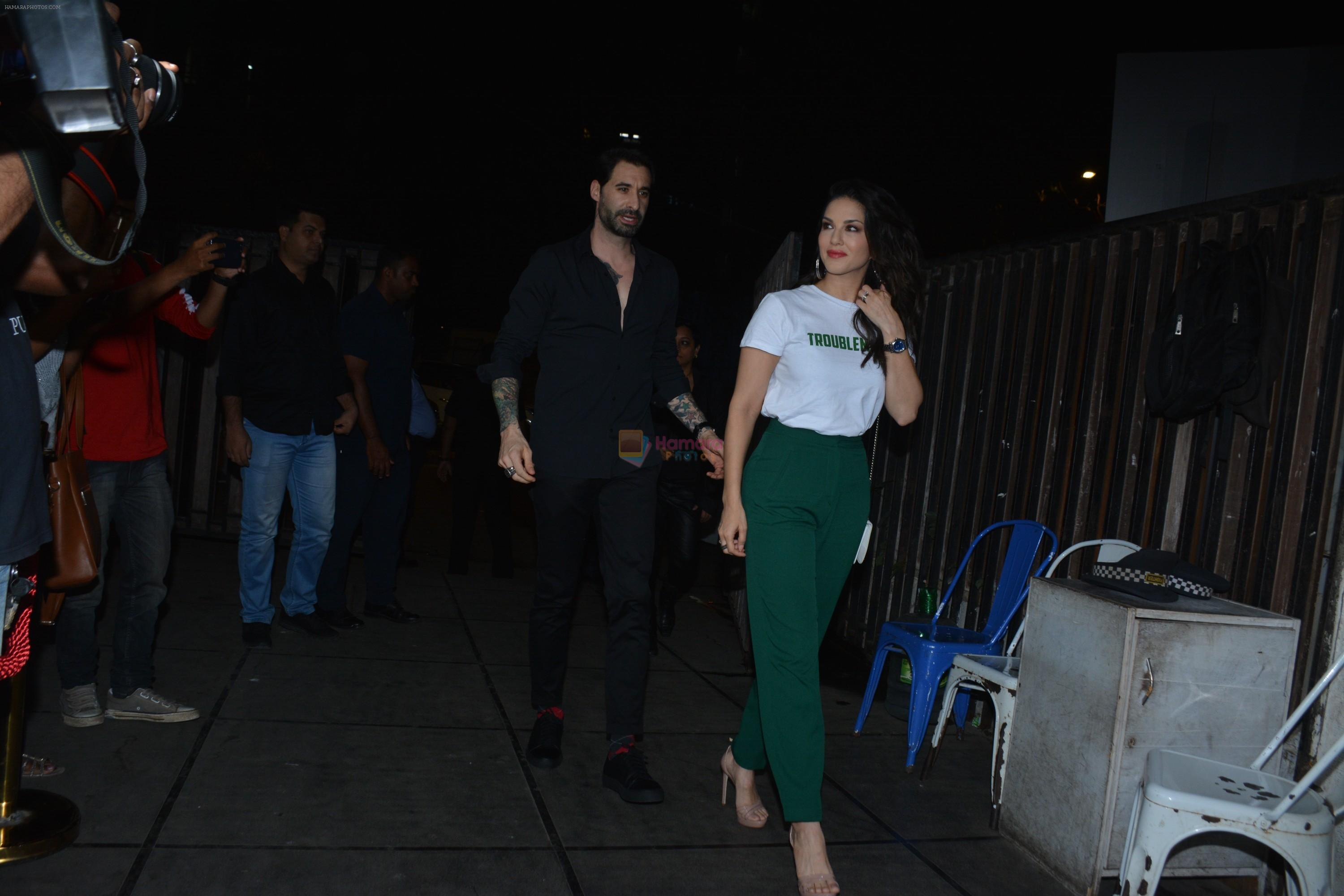 Sunny Leone at Luka Chuppi success party at Arth in khar on 12th March 2019