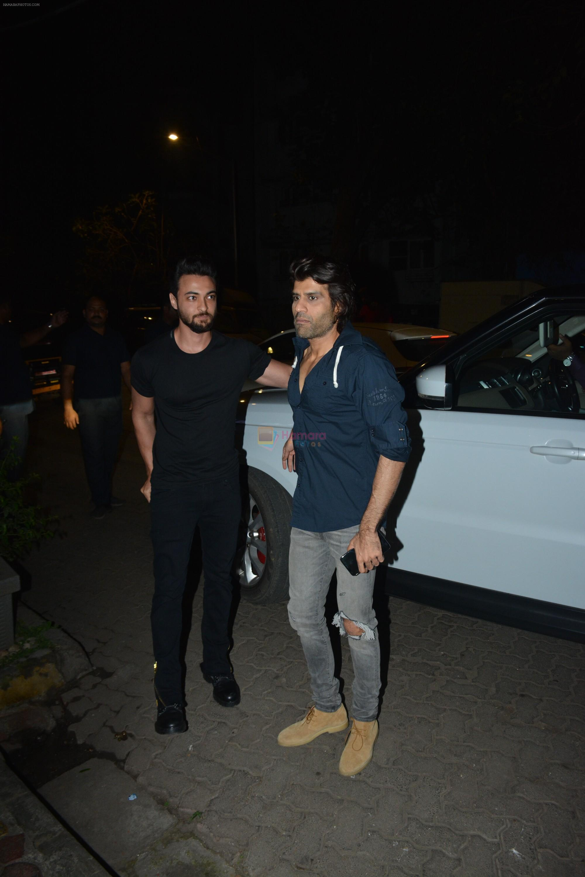 Aayush Sharma at Luka Chuppi success party at Arth in khar on 12th March 2019