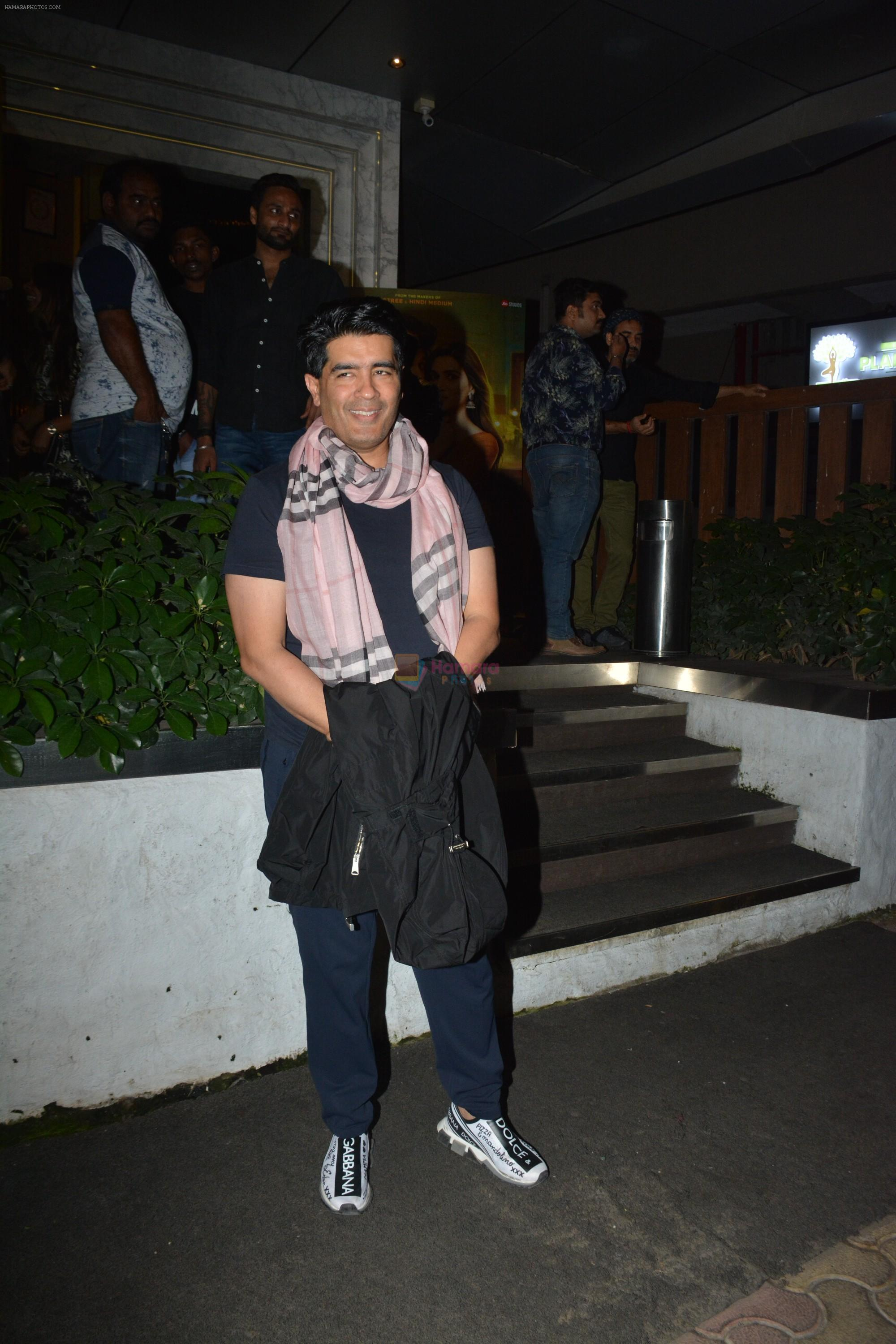 Manish Malhotra at Luka Chuppi success party at Arth in khar on 12th March 2019