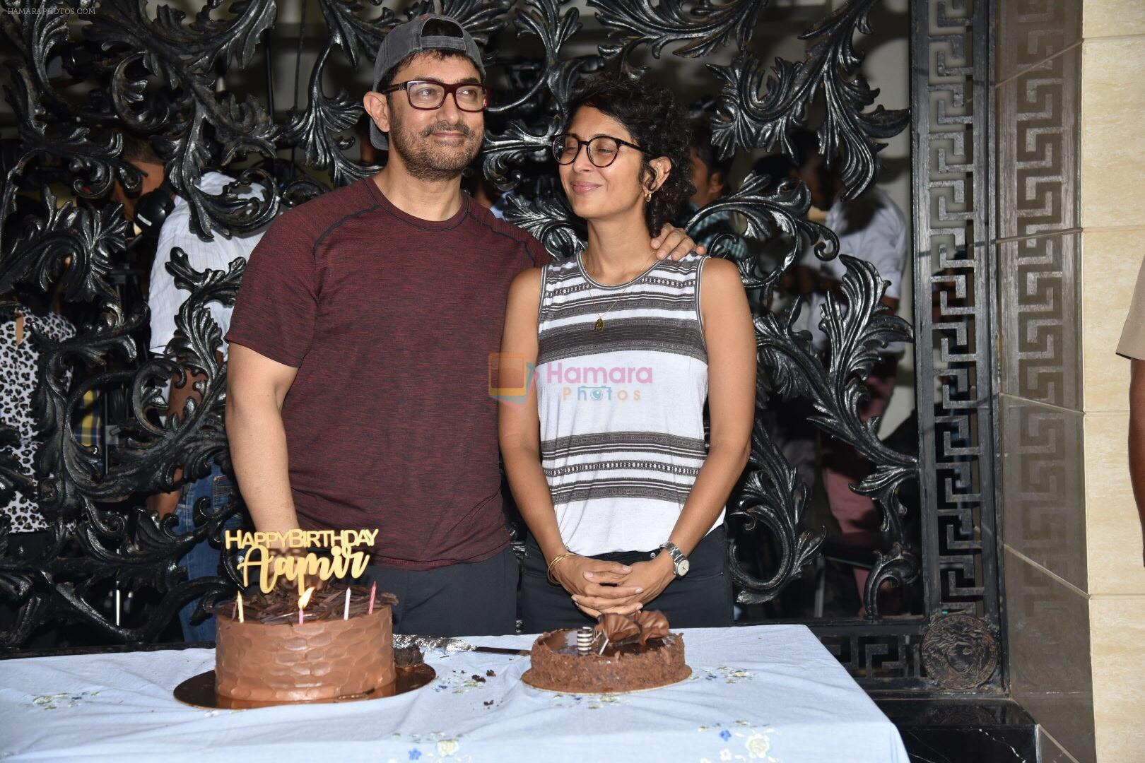 Aamir khan birthday celebration at his house on 14th March 2019
