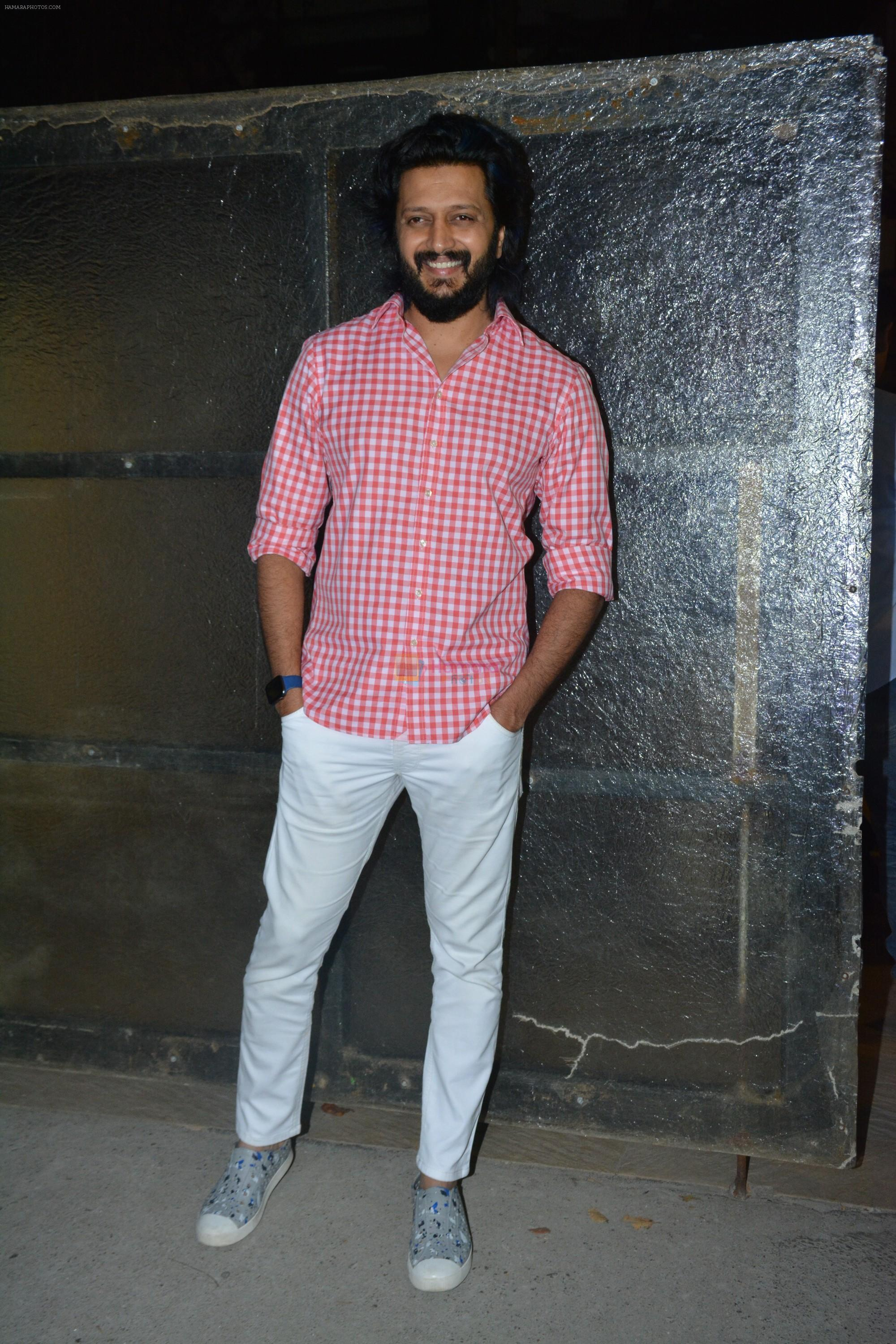 Riteish Deshmukh at the Wrapup party of film Marjaavaan at Otters club in bandra on 18th March 2019