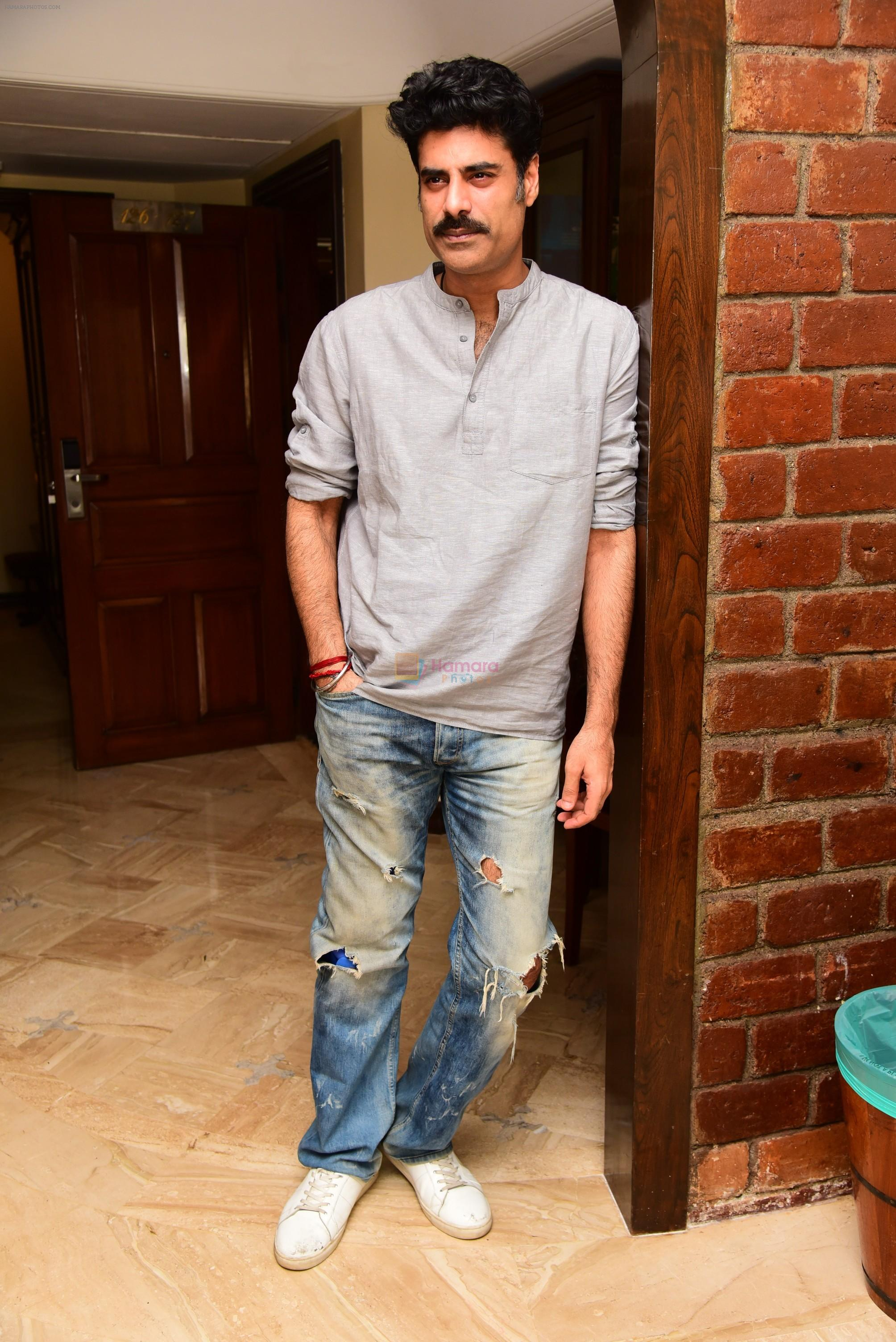 Sikander Kher during the promotions of film Raw at Sun n Sand in juhu on 18th March 2019