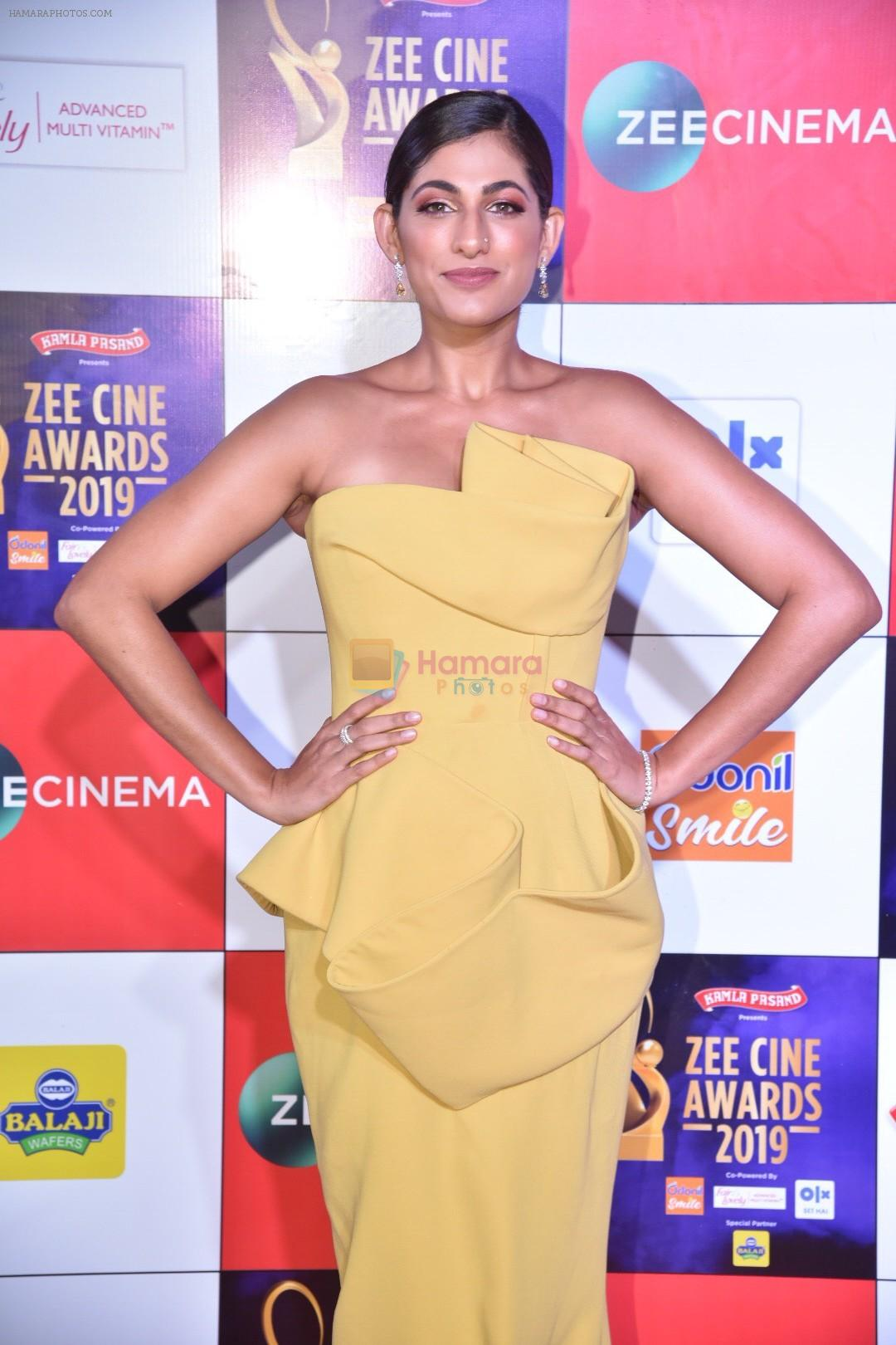 Kubbra Sait at Zee cine awards red carpet on 19th March 2019