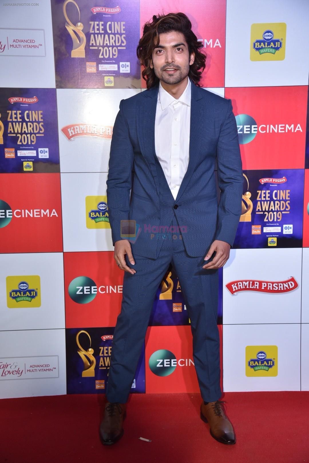 Gurmeet Choudhary at Zee cine awards red carpet on 19th March 2019