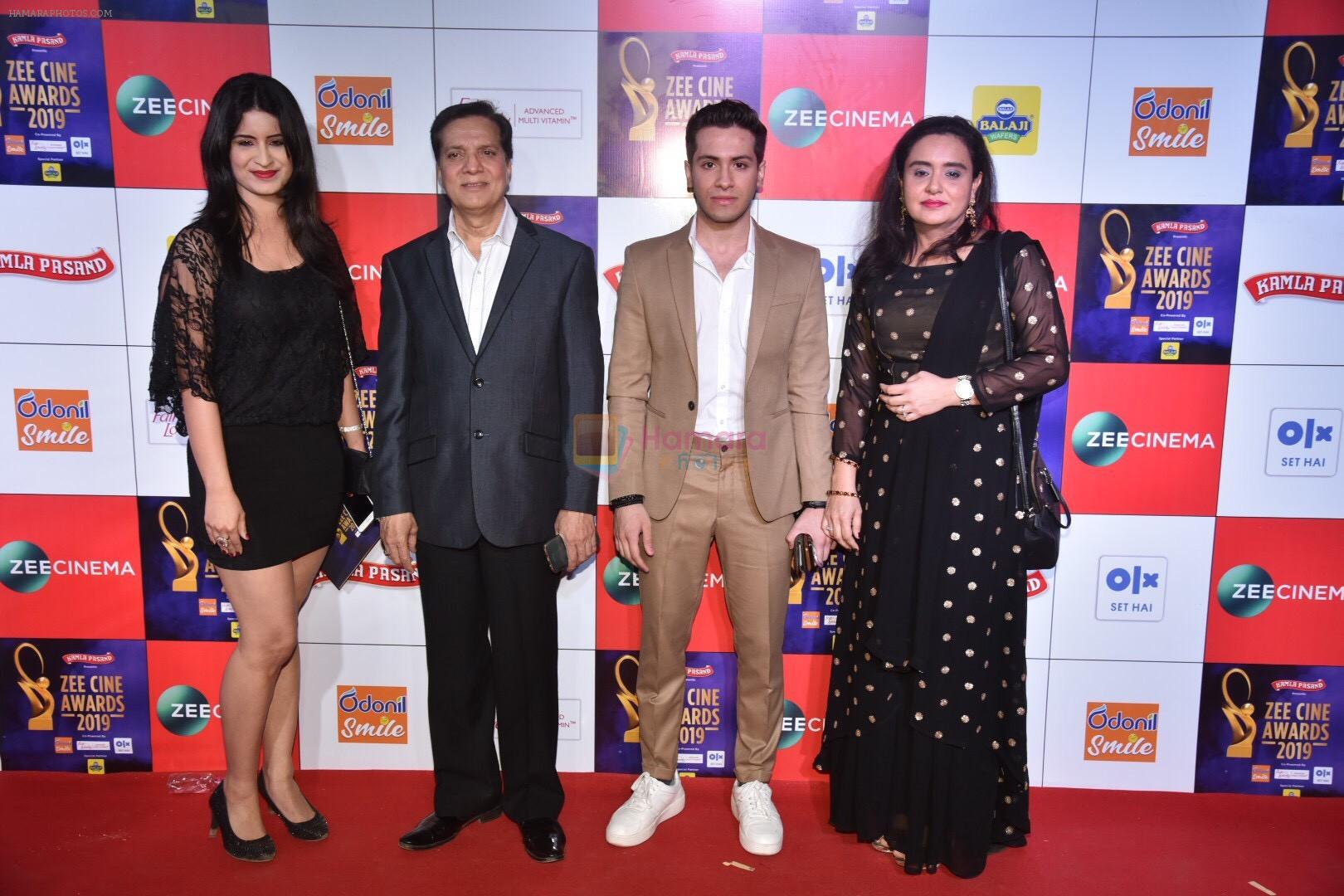 Jatin Pandit at Zee cine awards red carpet on 19th March 2019