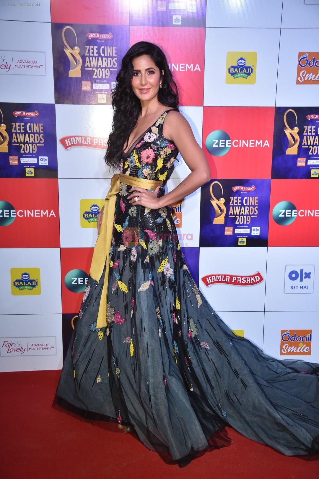 Katrina Kaif at Zee cine awards red carpet on 19th March 2019
