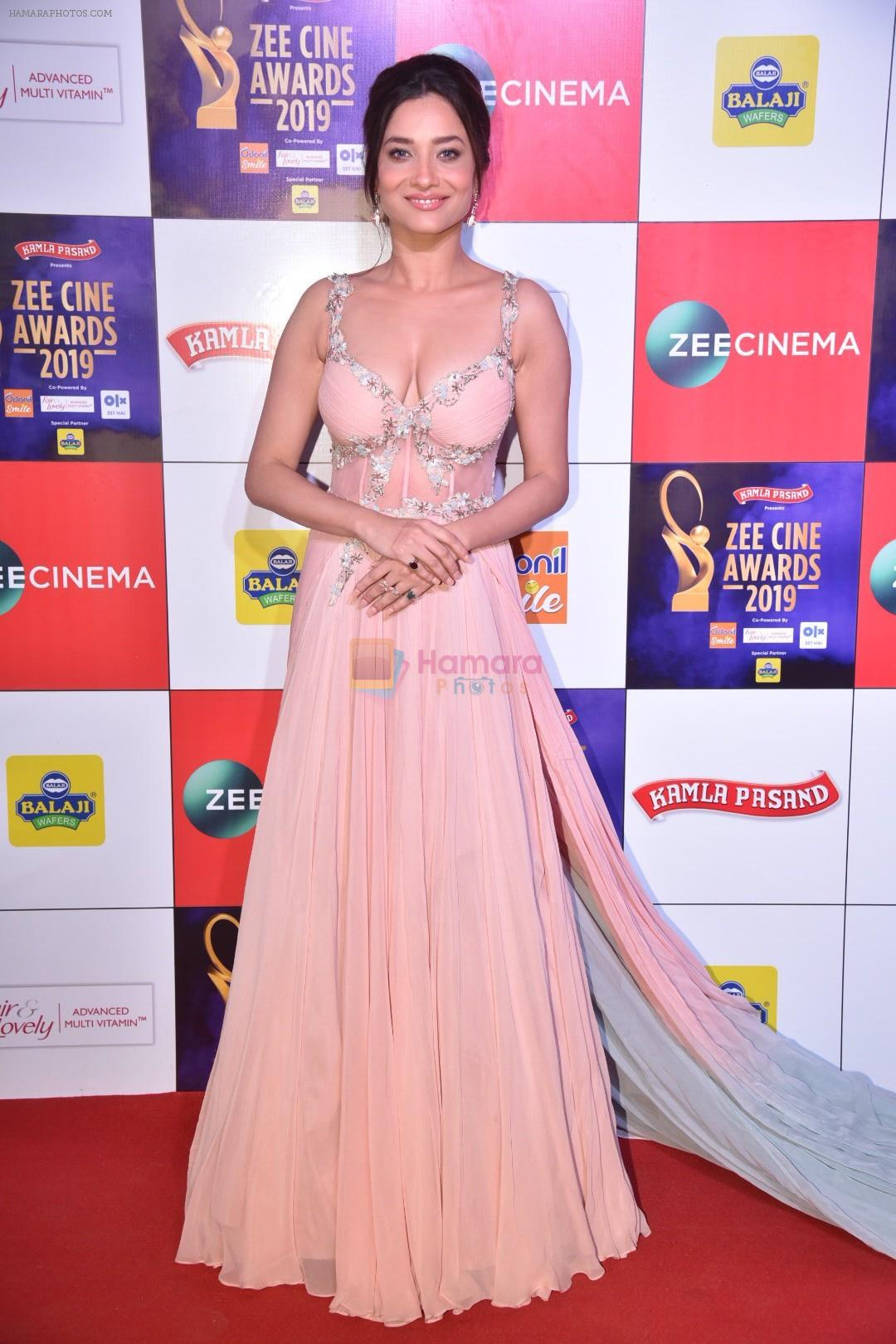 Ankita Lokhande at Zee cine awards red carpet on 19th March 2019