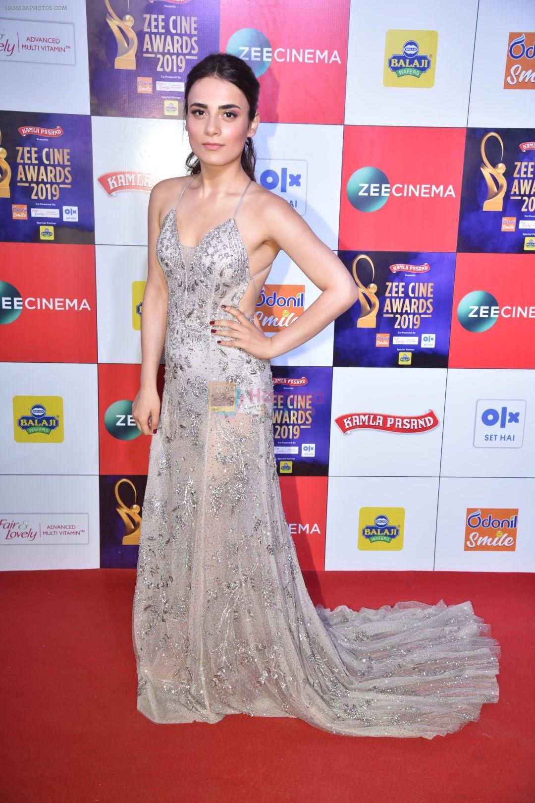 Radhika Madan at Zee cine awards red carpet on 19th March 2019