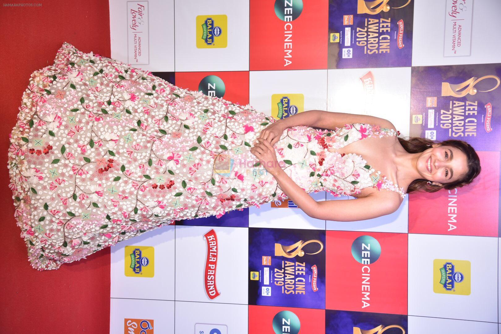 Alia Bhatt at Zee cine awards red carpet on 19th March 2019