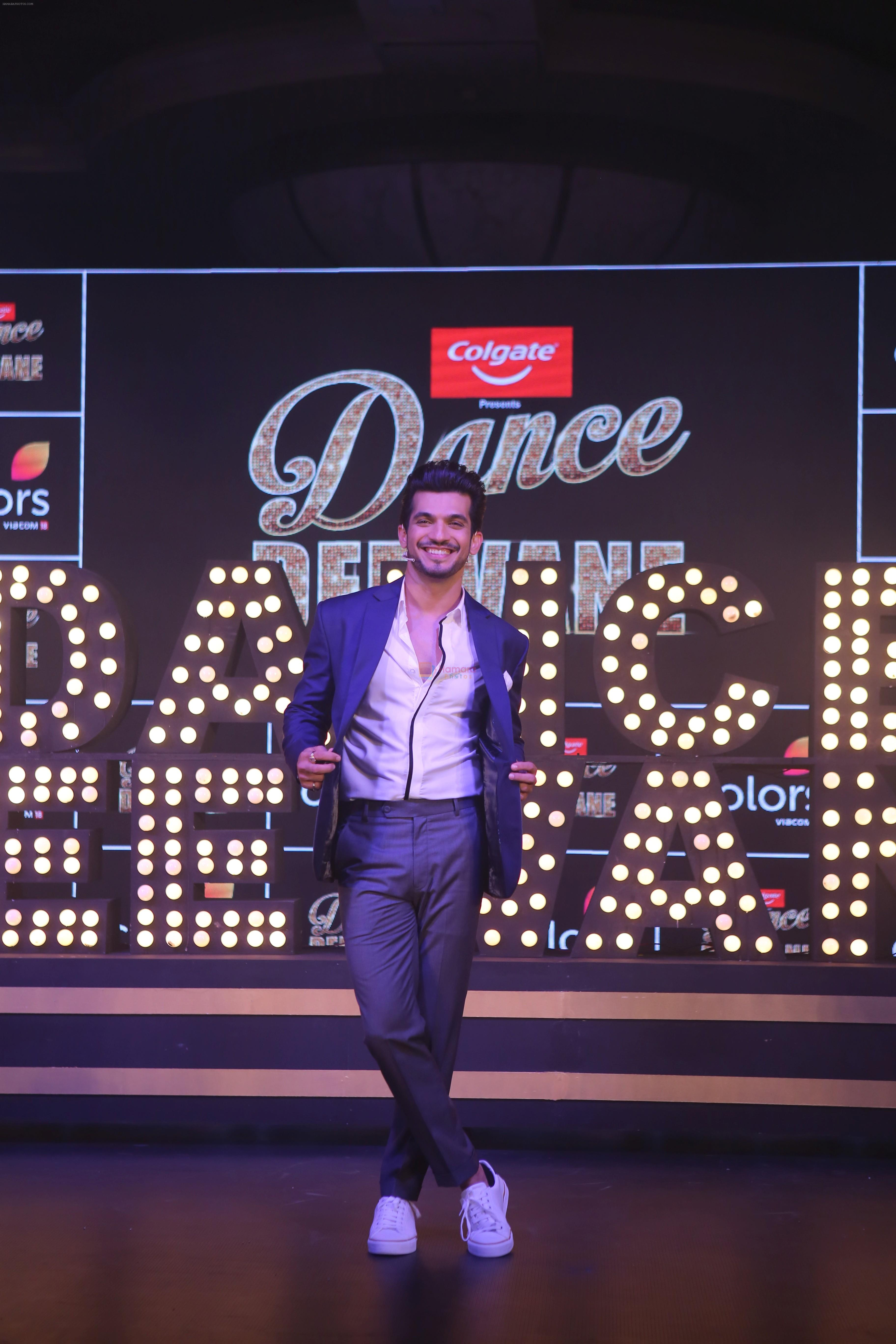 Arjun Bijlani at the launch of colors show Dance Deewane at jw marriott juhu on 26th May 2019