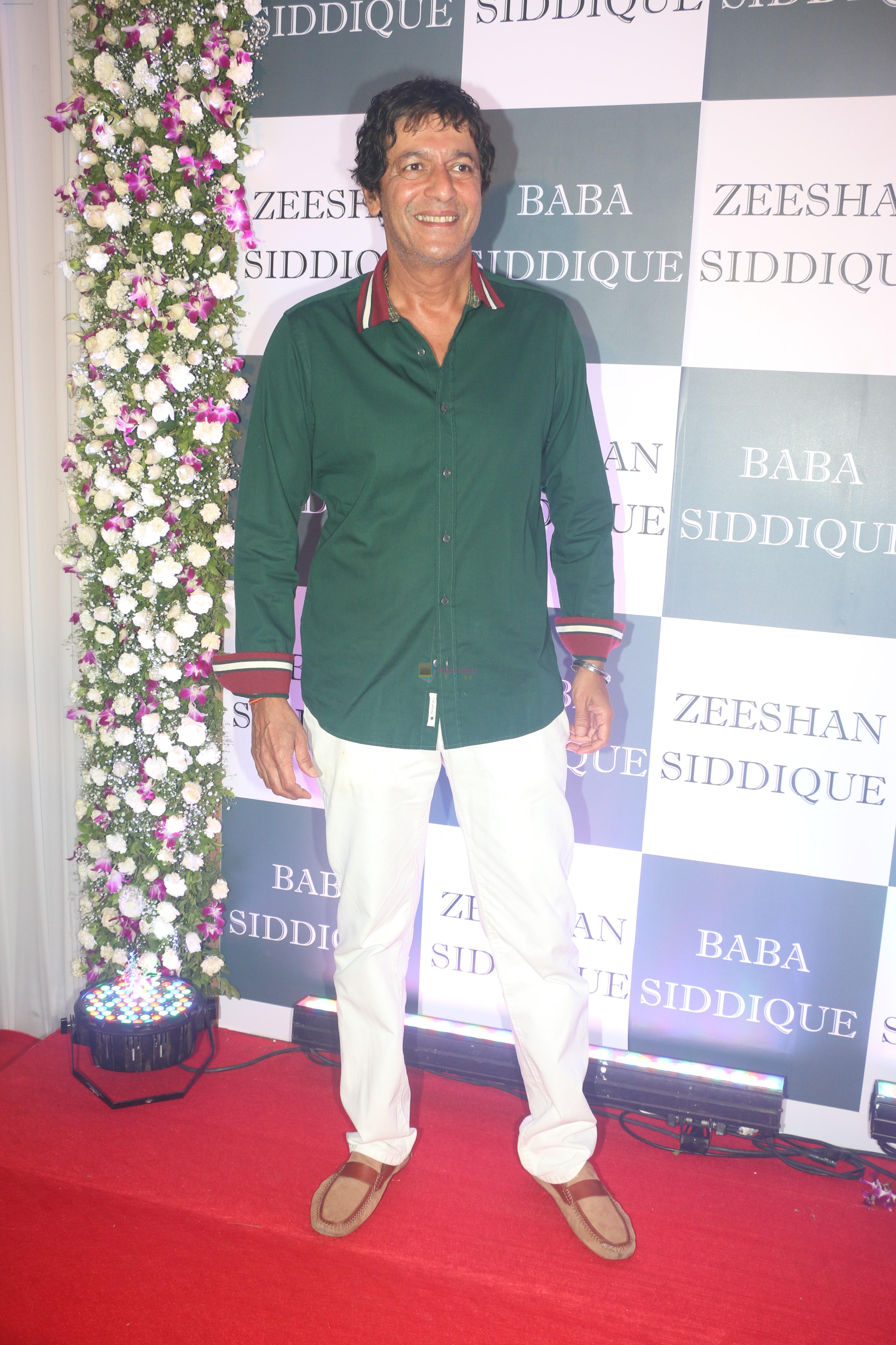 Chunky Pandey at Baba Siddiqui iftaar party in Taj Lands End bandra on 2nd June 2019