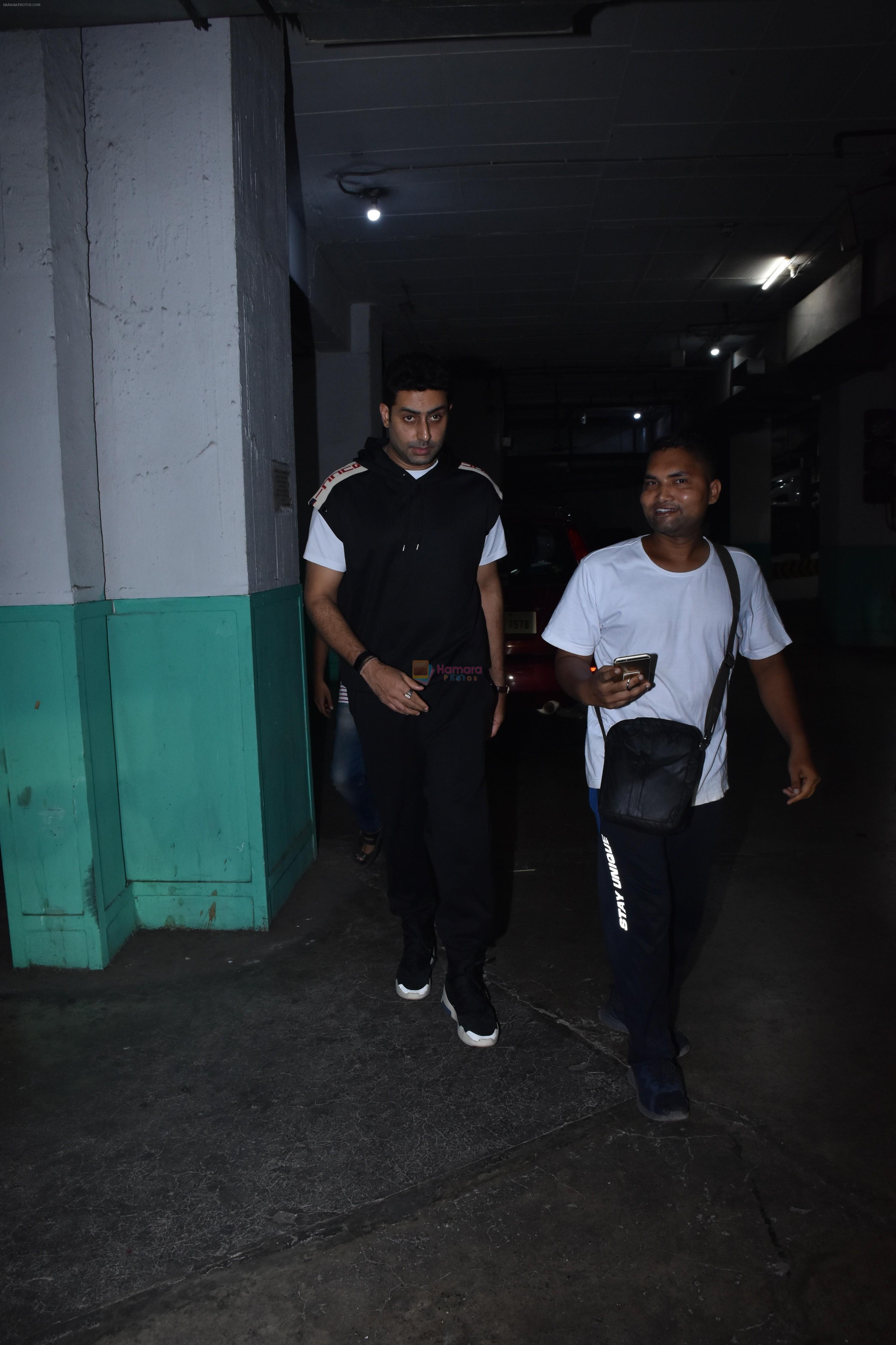 Abhishek Bachchan spotted at pvr juhu on 2nd June 2019