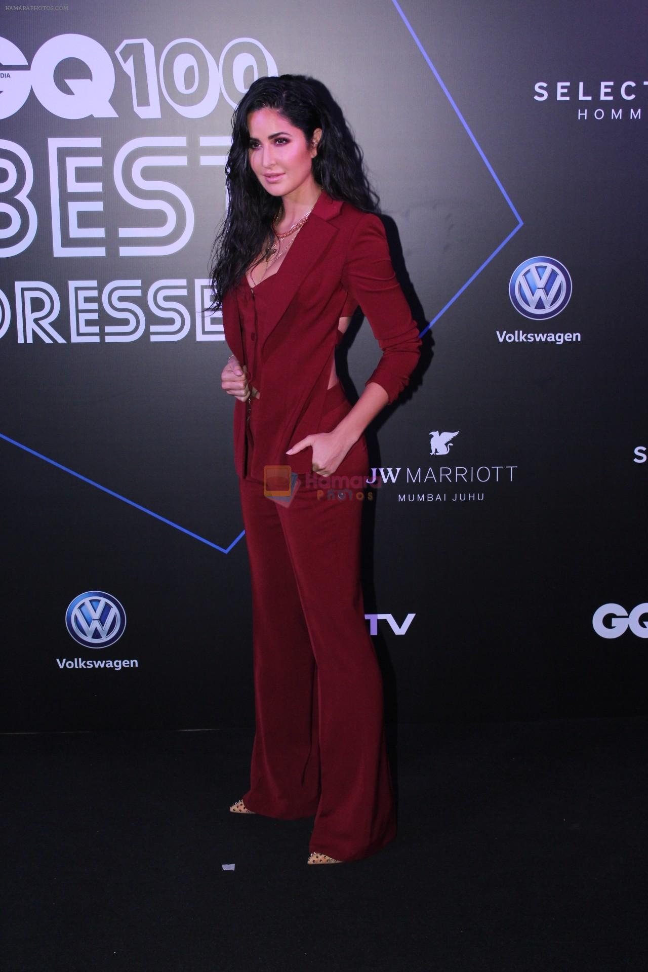 Katrina Kaif at GQ 100 Best Dressed Awards 2019 on 2nd June 2019