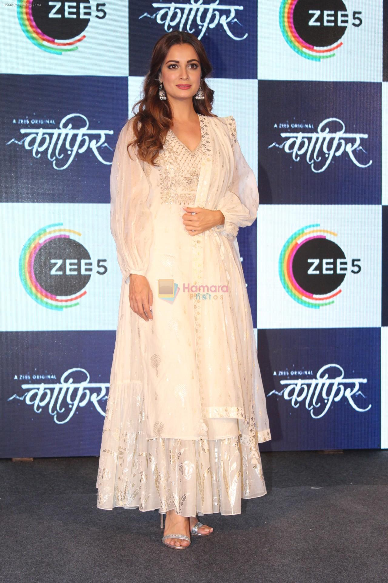 Dia Mirza at the Press Conference of ZEE5 Original KAAFIR on 6th June 2019