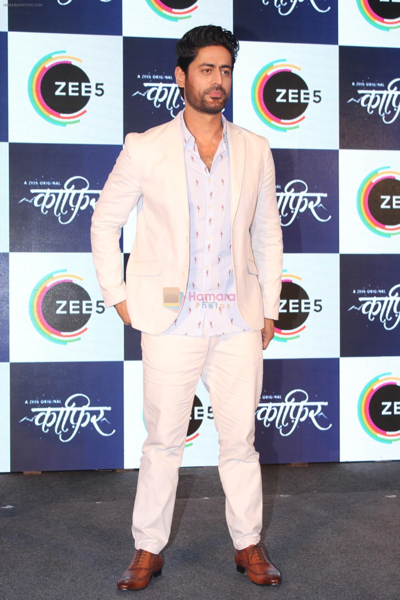 Mohit Raina at the Press Conference of ZEE5 Original KAAFIR on 6th June 2019