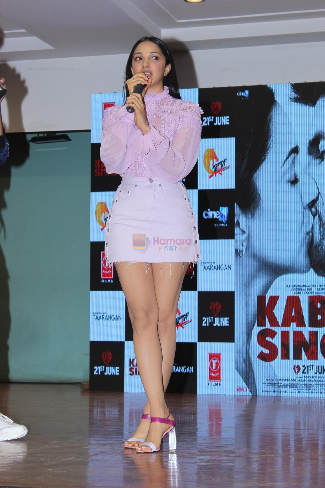 Kiara Advani at the song launch of Kabir Singh on 6th June 2019