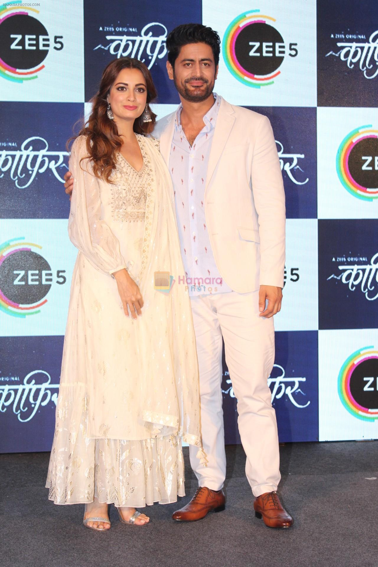 Dia Mirza, Mohit Raina at the Press Conference of ZEE5 Original KAAFIR on 6th June 2019