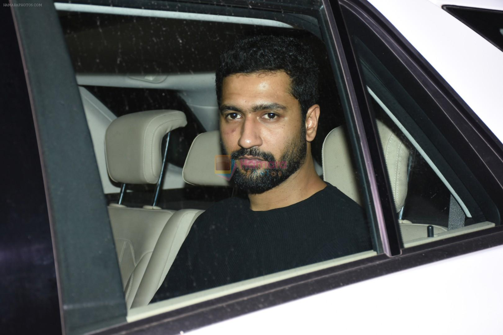 Vicky Kaushal attend party at Karan Johar's house in bandra on 12th June 2019
