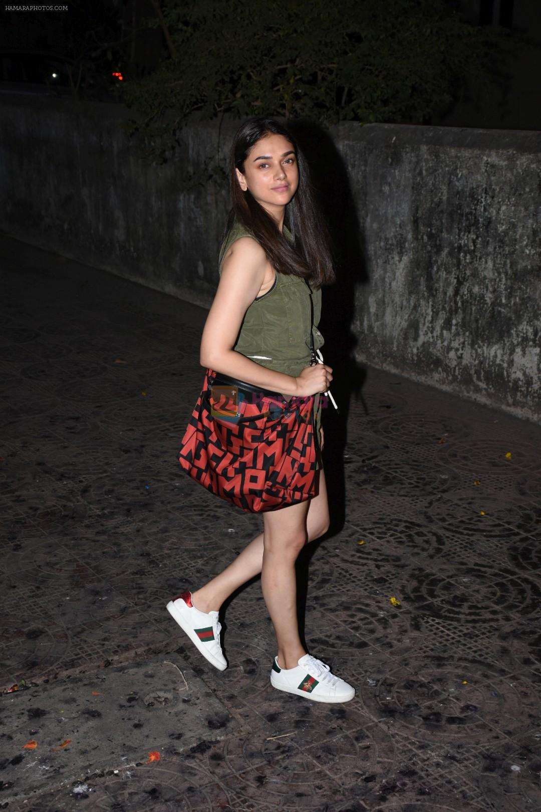 Aditi Rao Hydari spotted at Zedo bandra on 9th June 2019